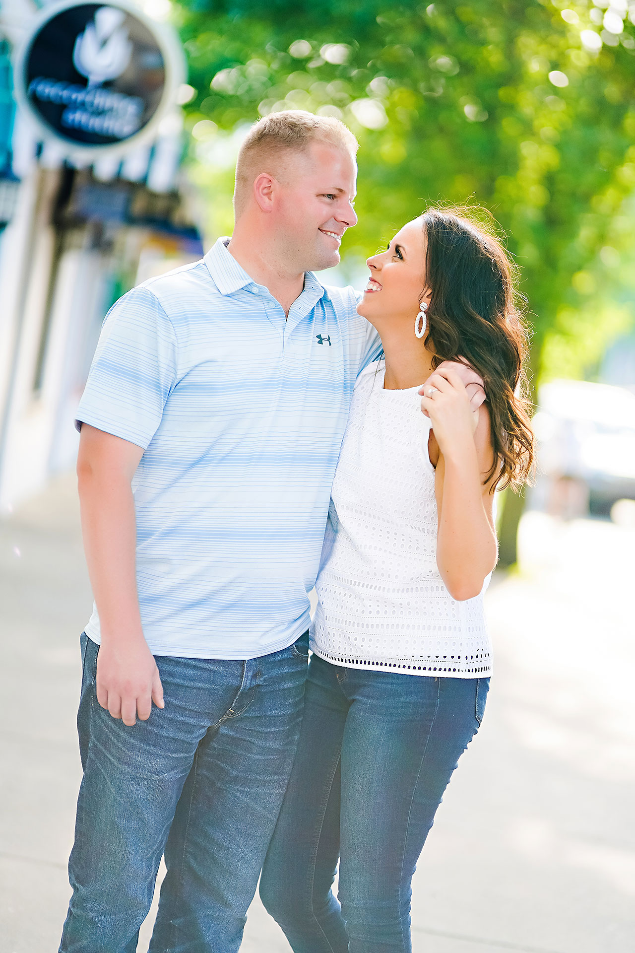 Michelle Casey Newfields Broad Ripple Indianapolis Engagement 071