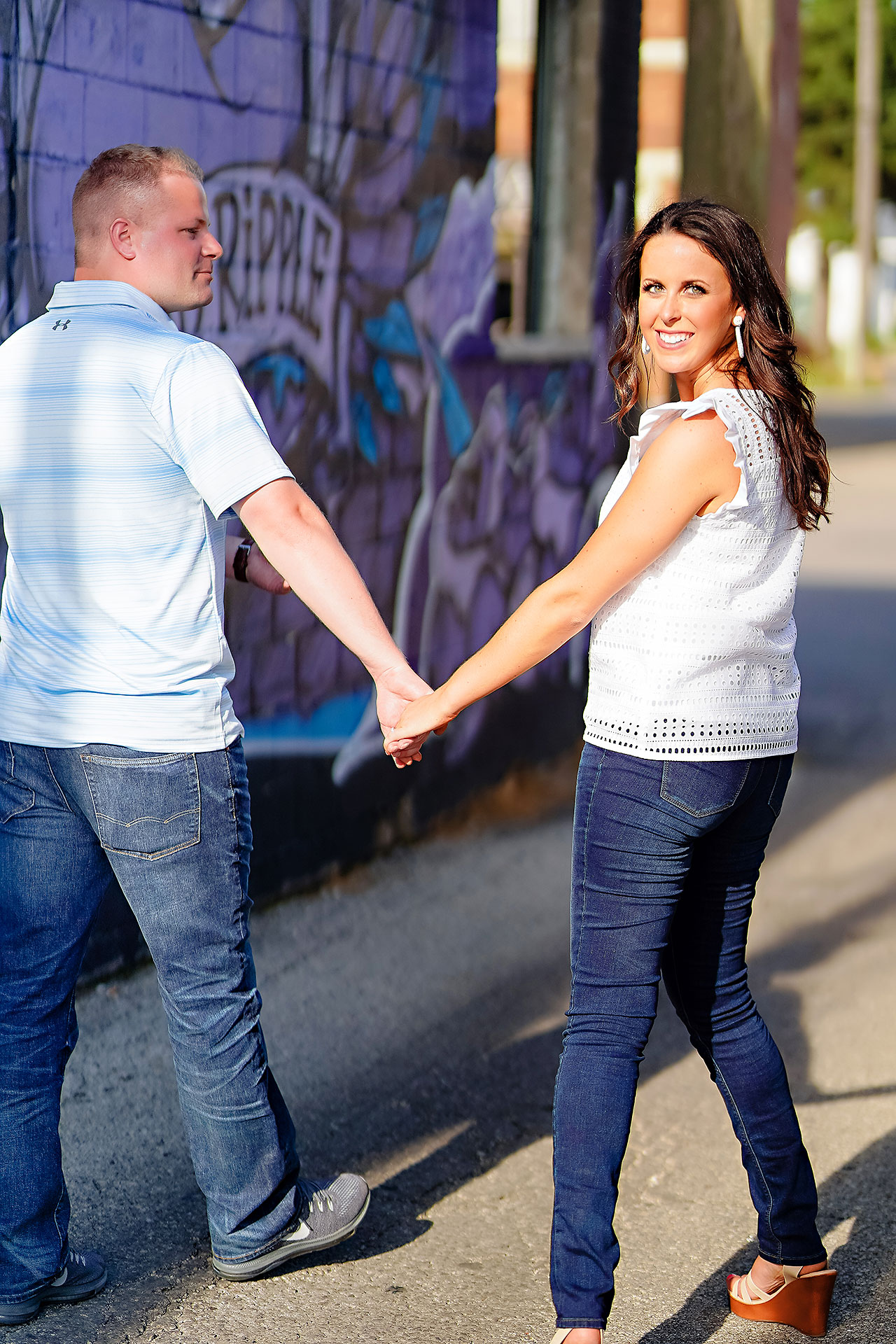 Michelle Casey Newfields Broad Ripple Indianapolis Engagement 045