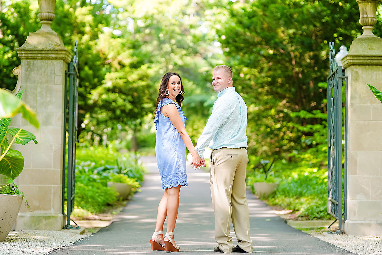 Michelle Casey Newfields Broad Ripple Indianapolis Engagement 029