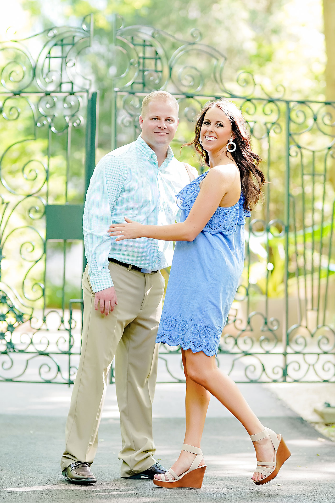Michelle Casey Newfields Broad Ripple Indianapolis Engagement 021