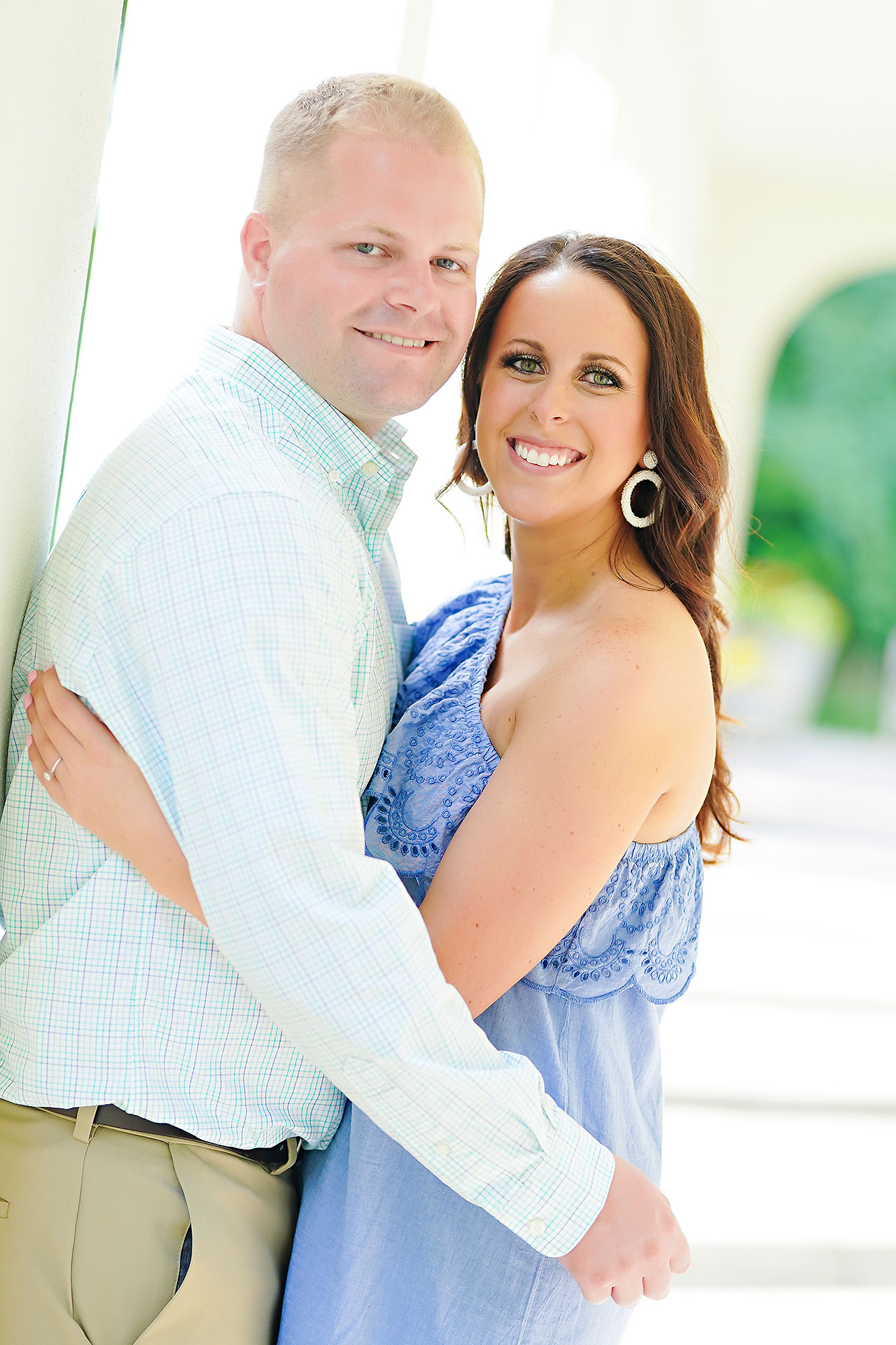 Michelle Casey Newfields Broad Ripple Indianapolis Engagement 022