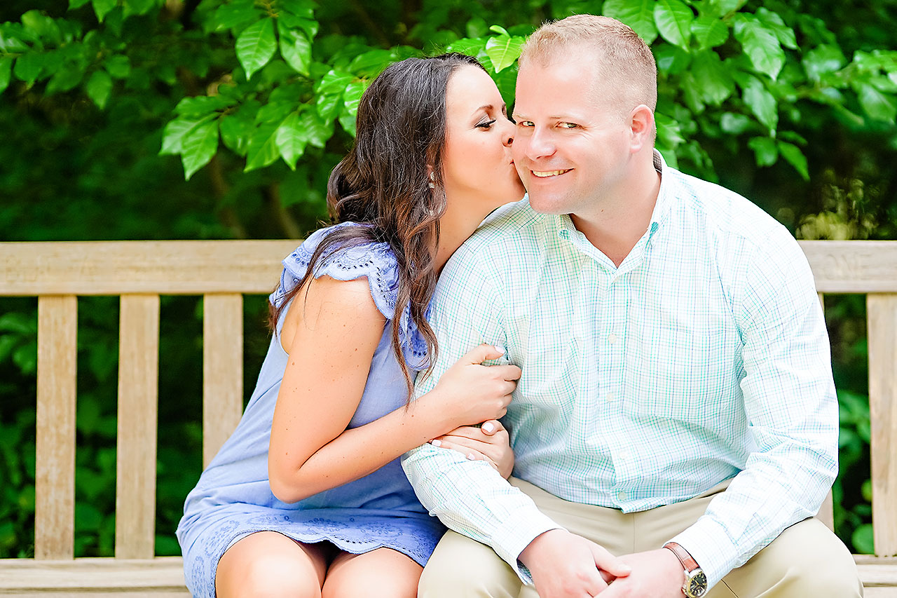Michelle Casey Newfields Broad Ripple Indianapolis Engagement 016