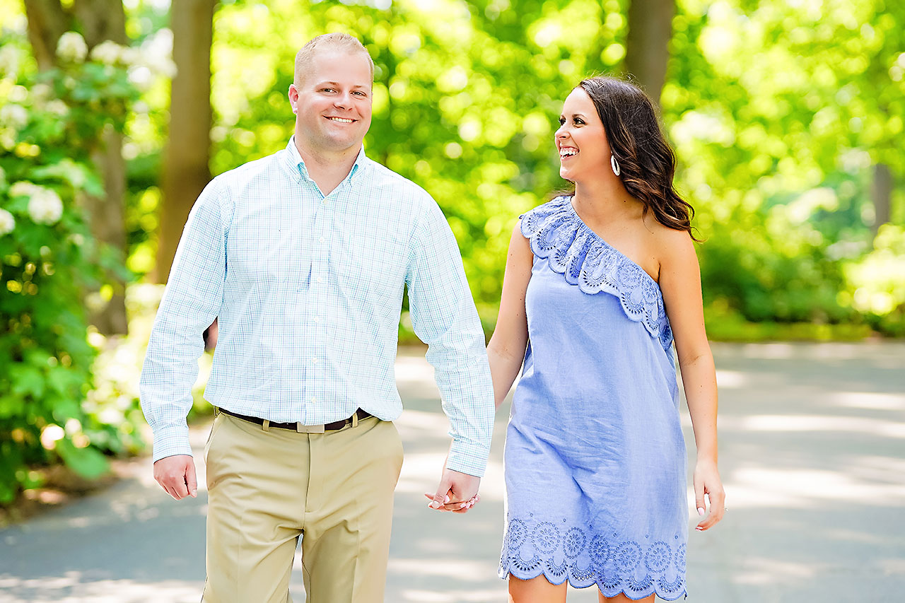Michelle Casey Newfields Broad Ripple Indianapolis Engagement 014