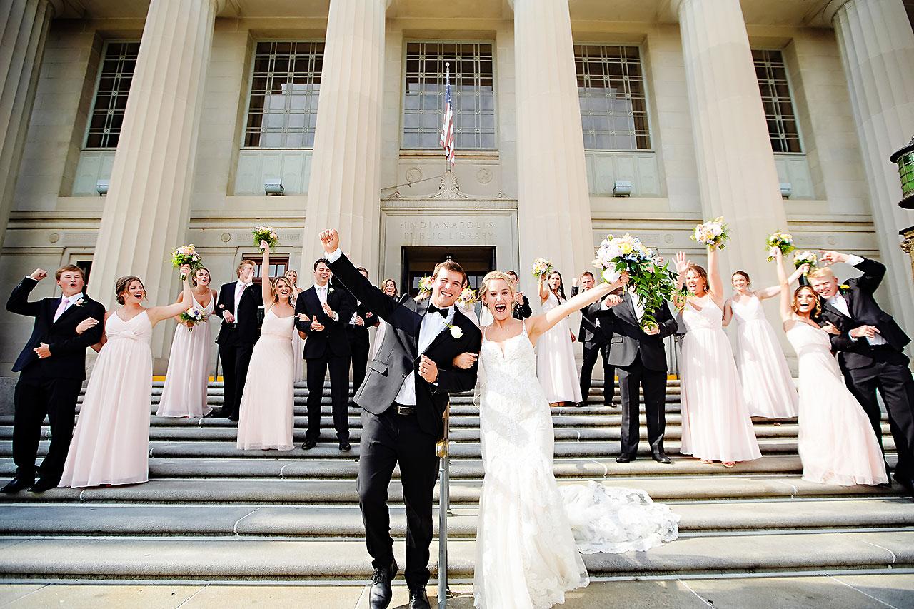 SAMANTHA + NATE | REGIONS TOWER INDIANAPOLIS WEDDING