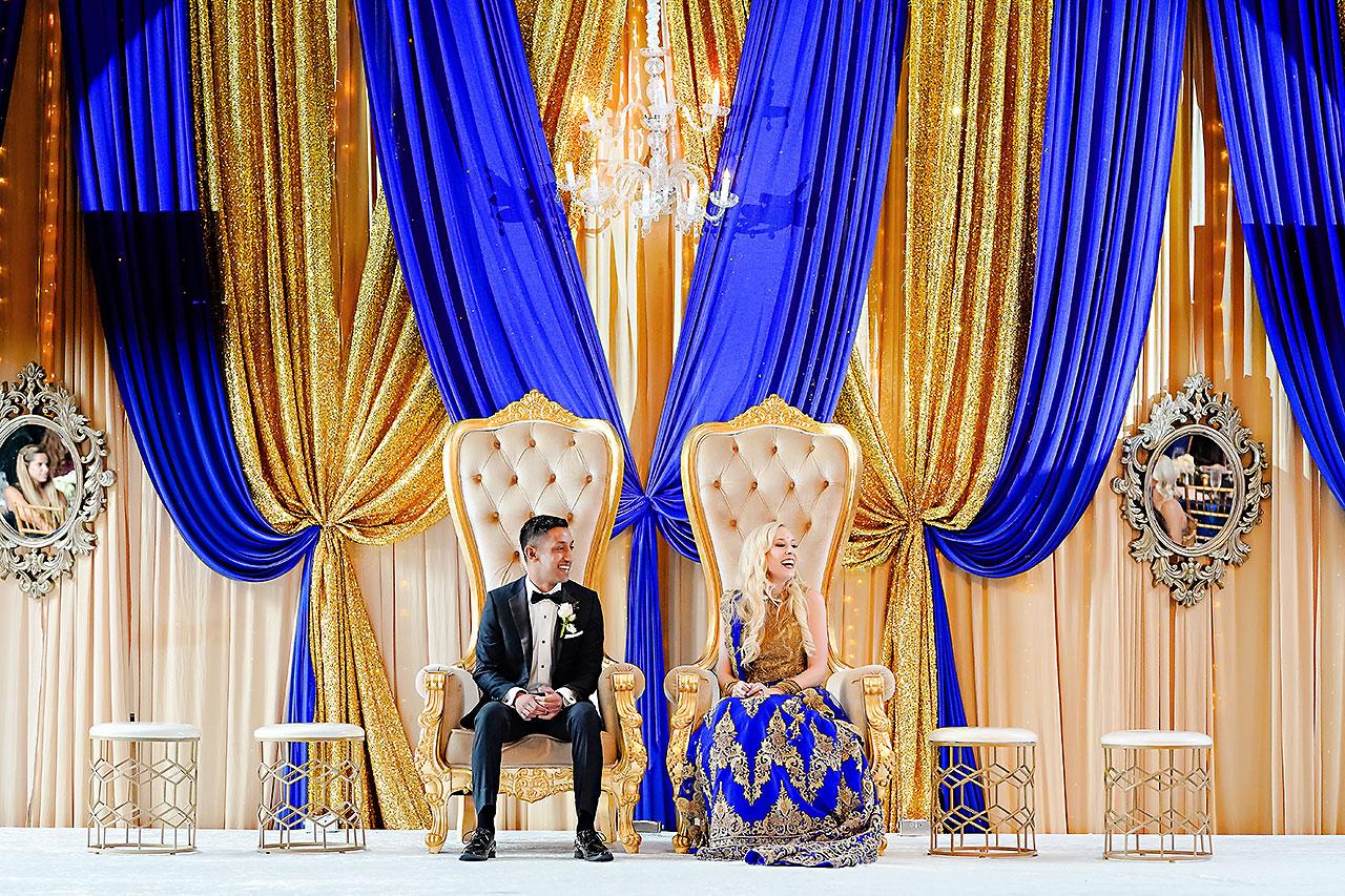RACHEL + RYAN | HYATT INDIANAPOLIS BENGALI WEDDING