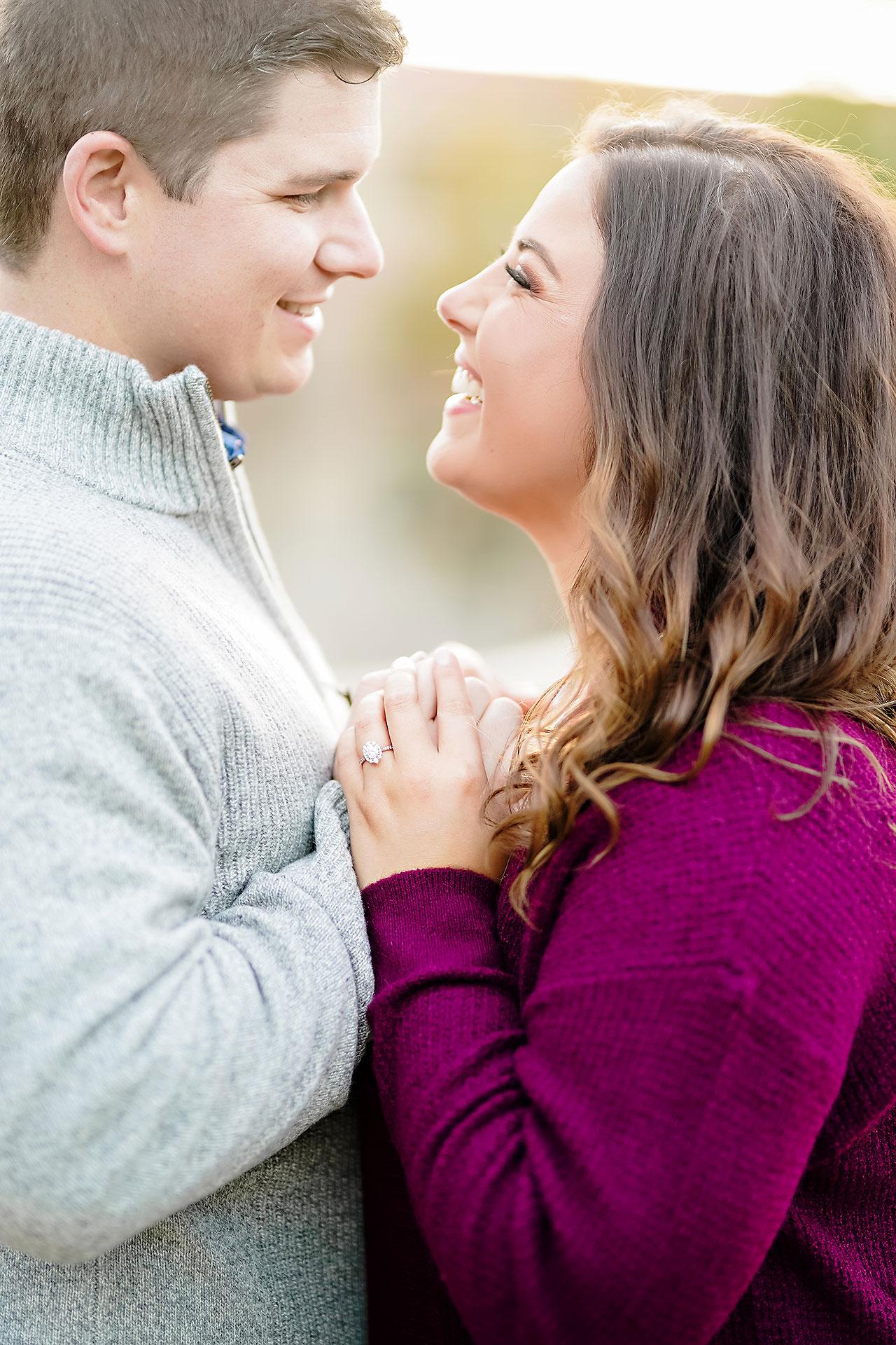 Allie Joe Purdue Engagement 123