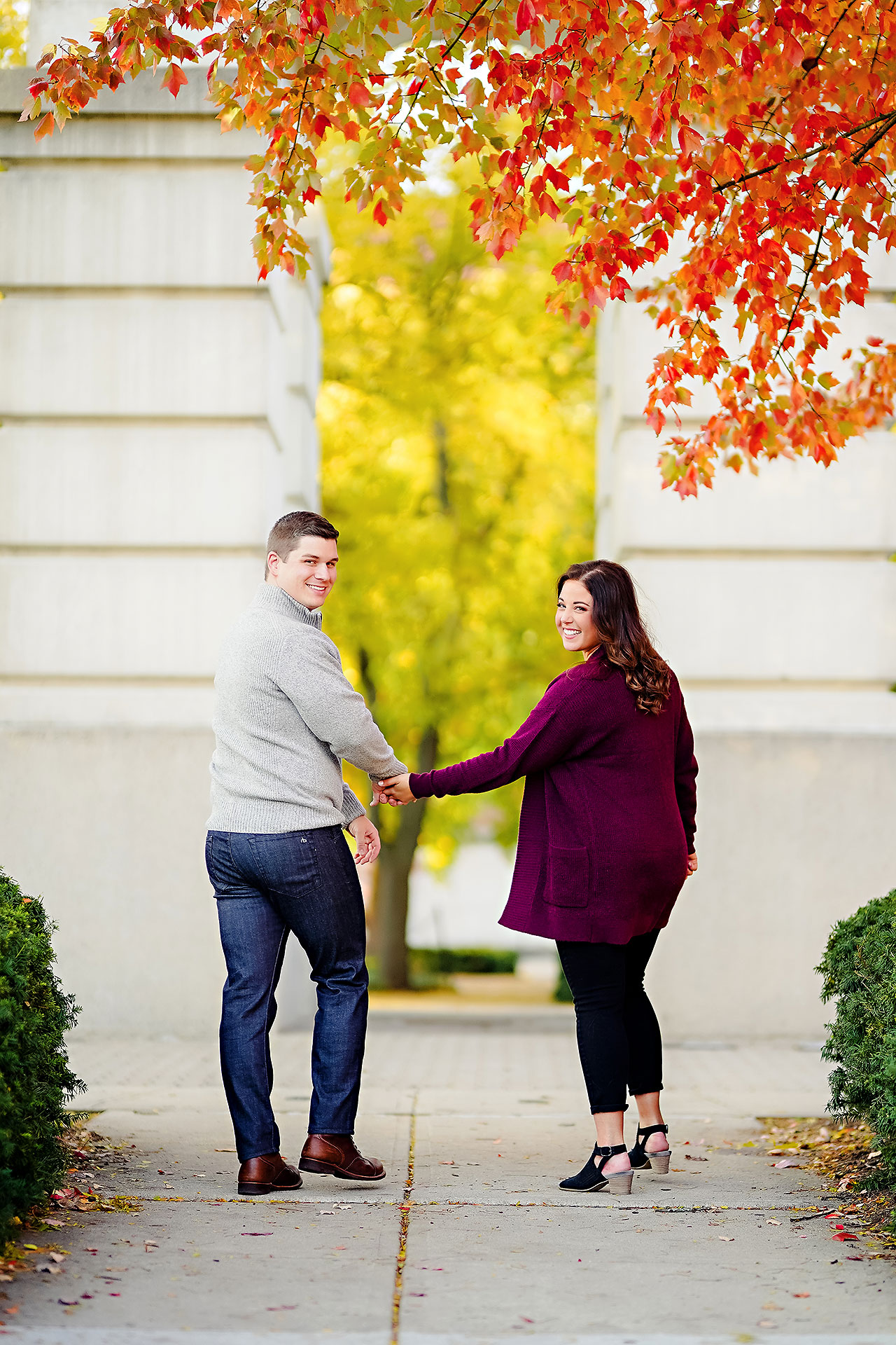 Allie Joe Purdue Engagement 111