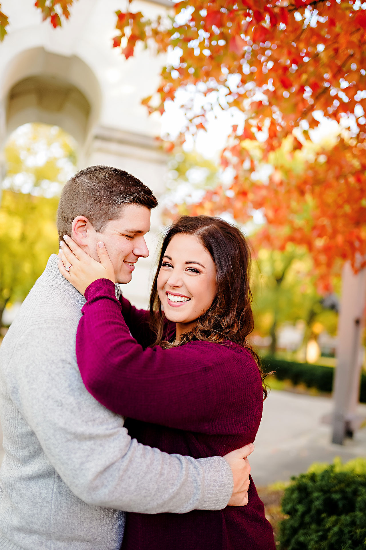 Allie Joe Purdue Engagement 109