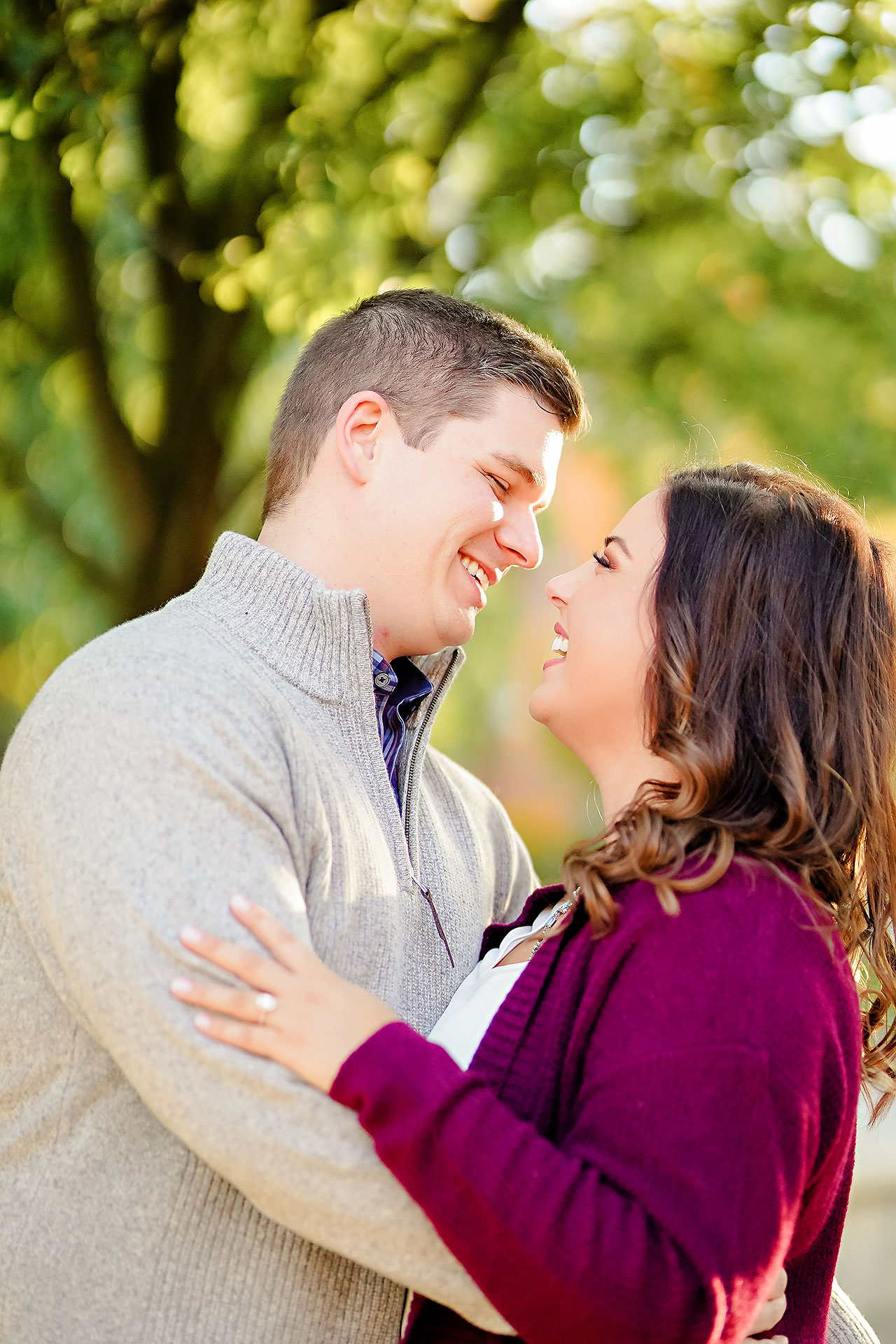 Allie Joe Purdue Engagement 090