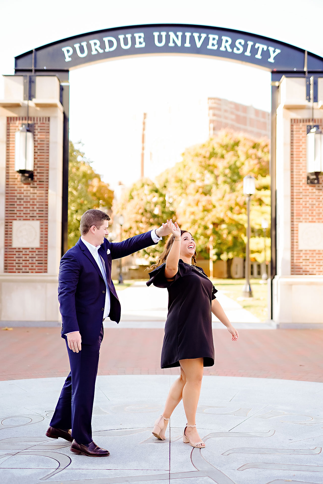 Allie Joe Purdue Engagement 040