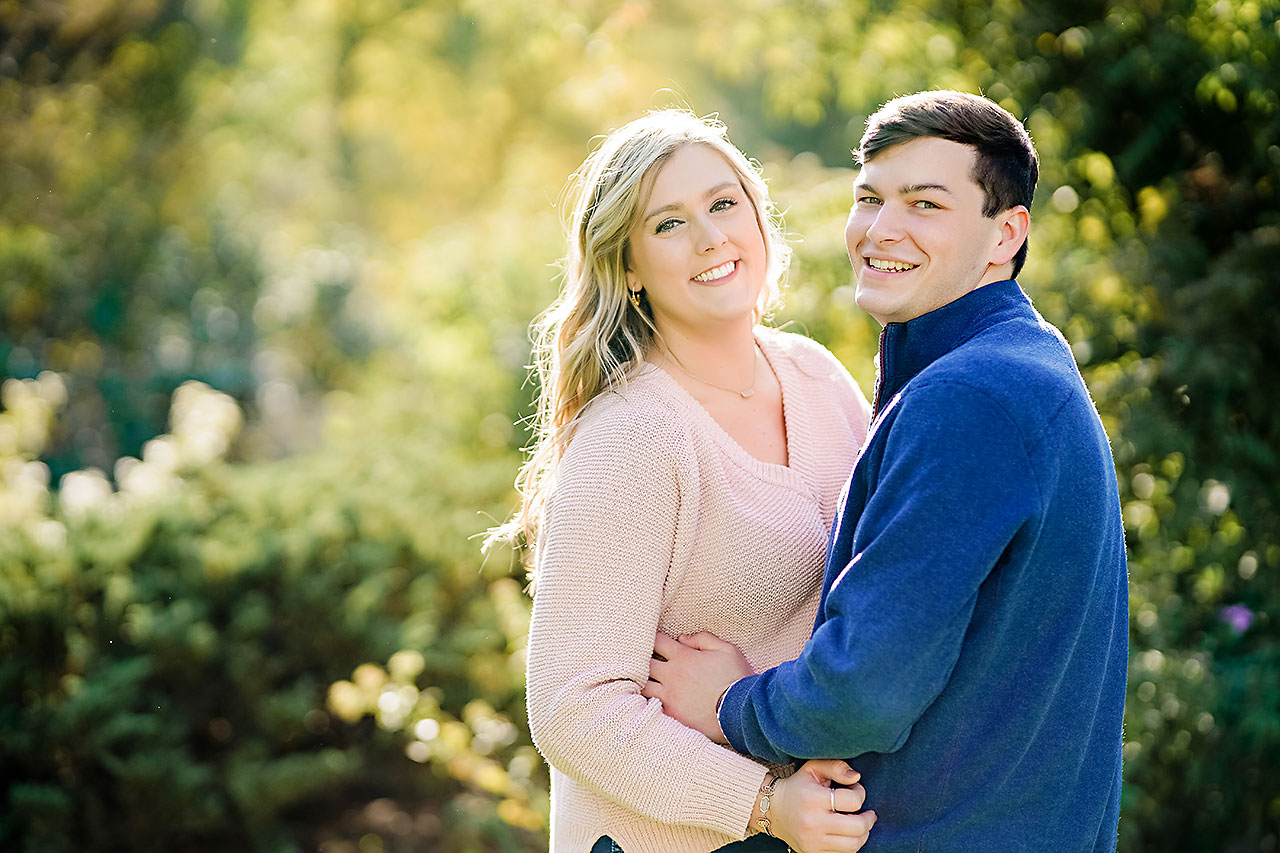 Taylor Case Newfields Engagement Session 155