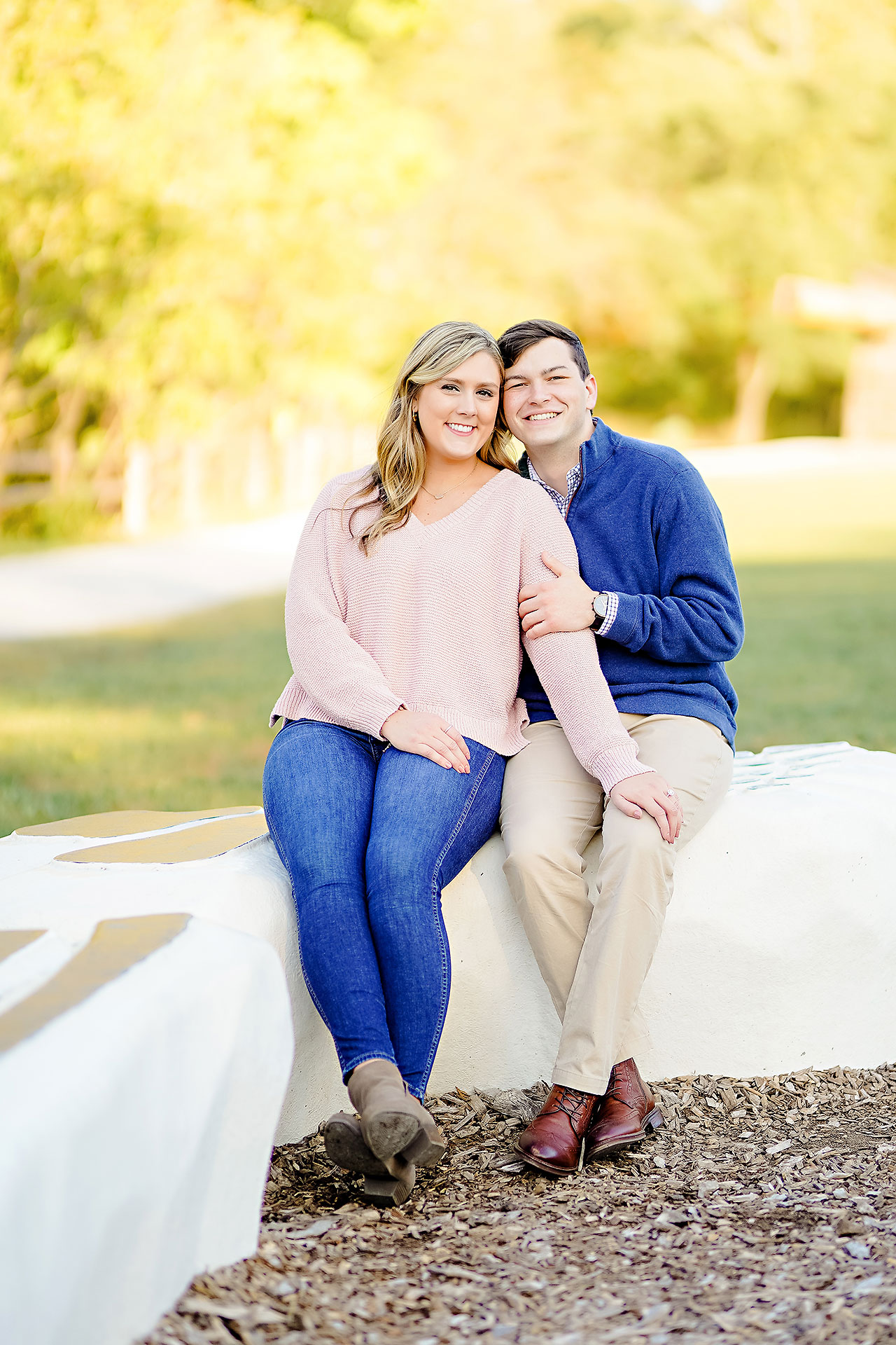 Taylor Case Newfields Engagement Session 148