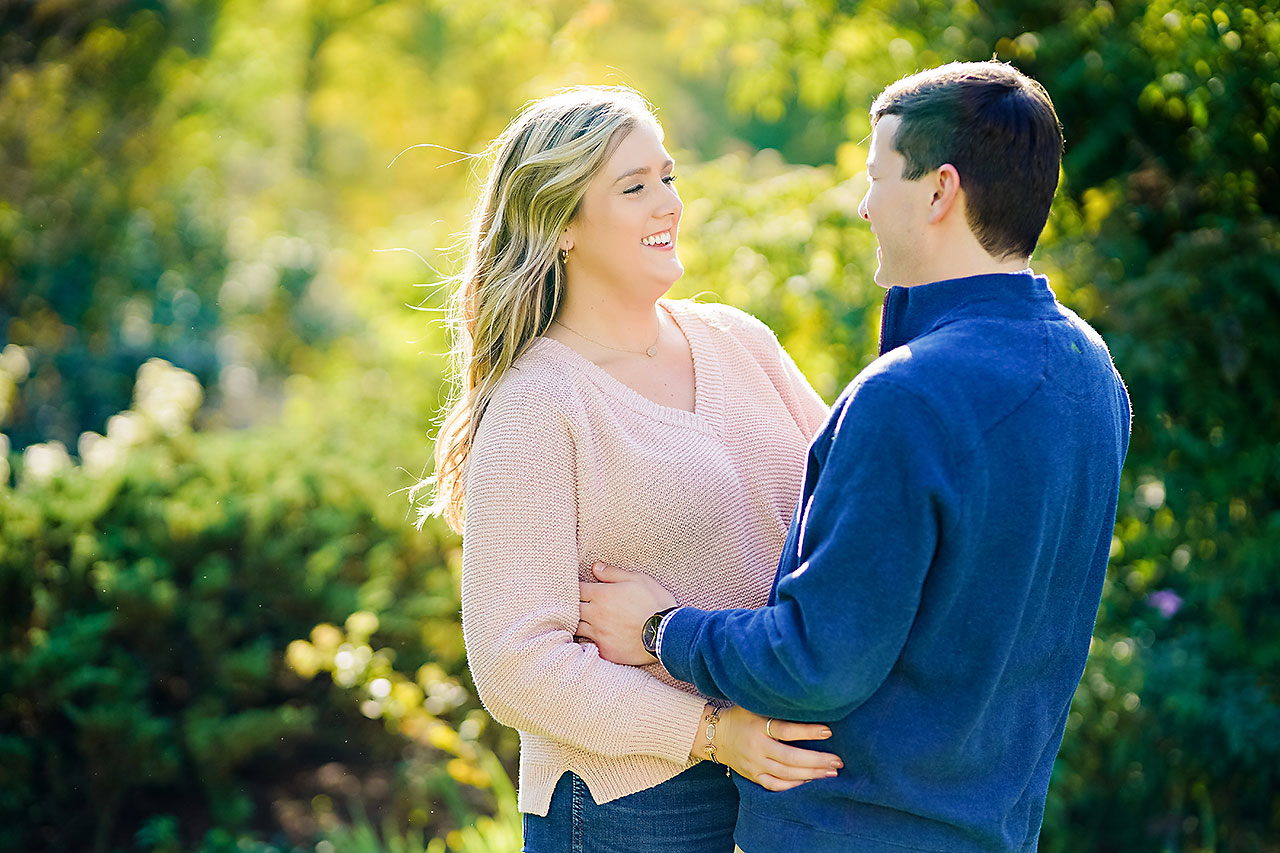 Taylor Case Newfields Engagement Session 139