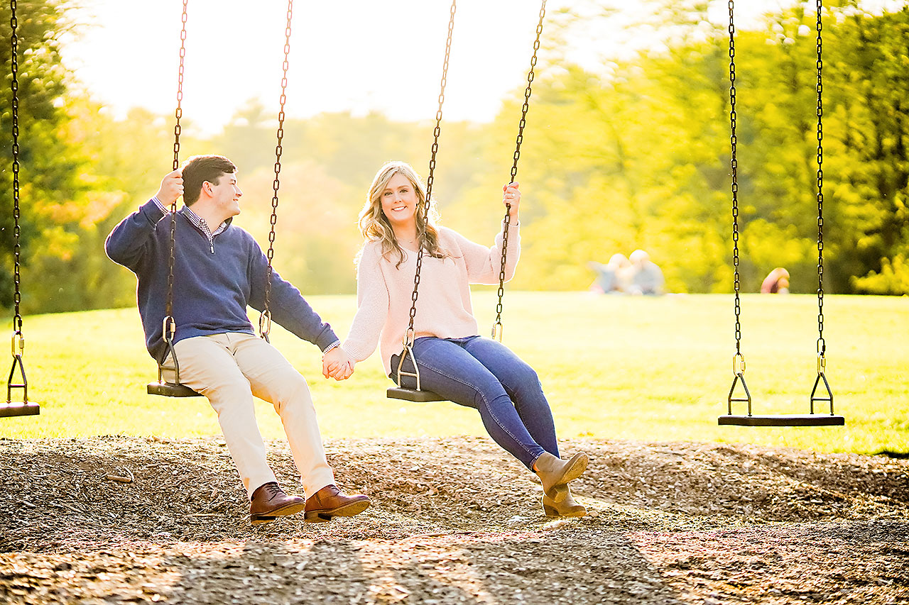 Taylor Case Newfields Engagement Session 138