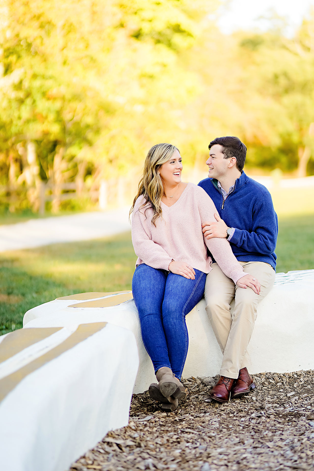 Taylor Case Newfields Engagement Session 121