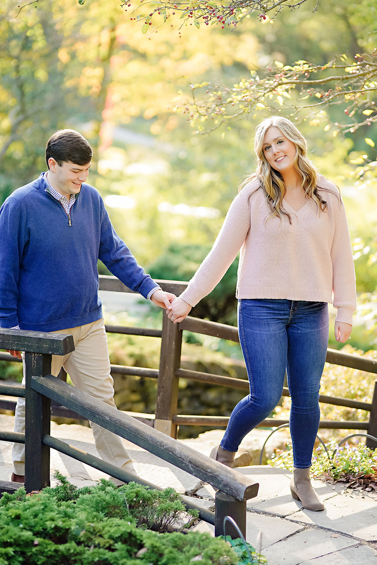 Taylor Case Newfields Engagement Session 123