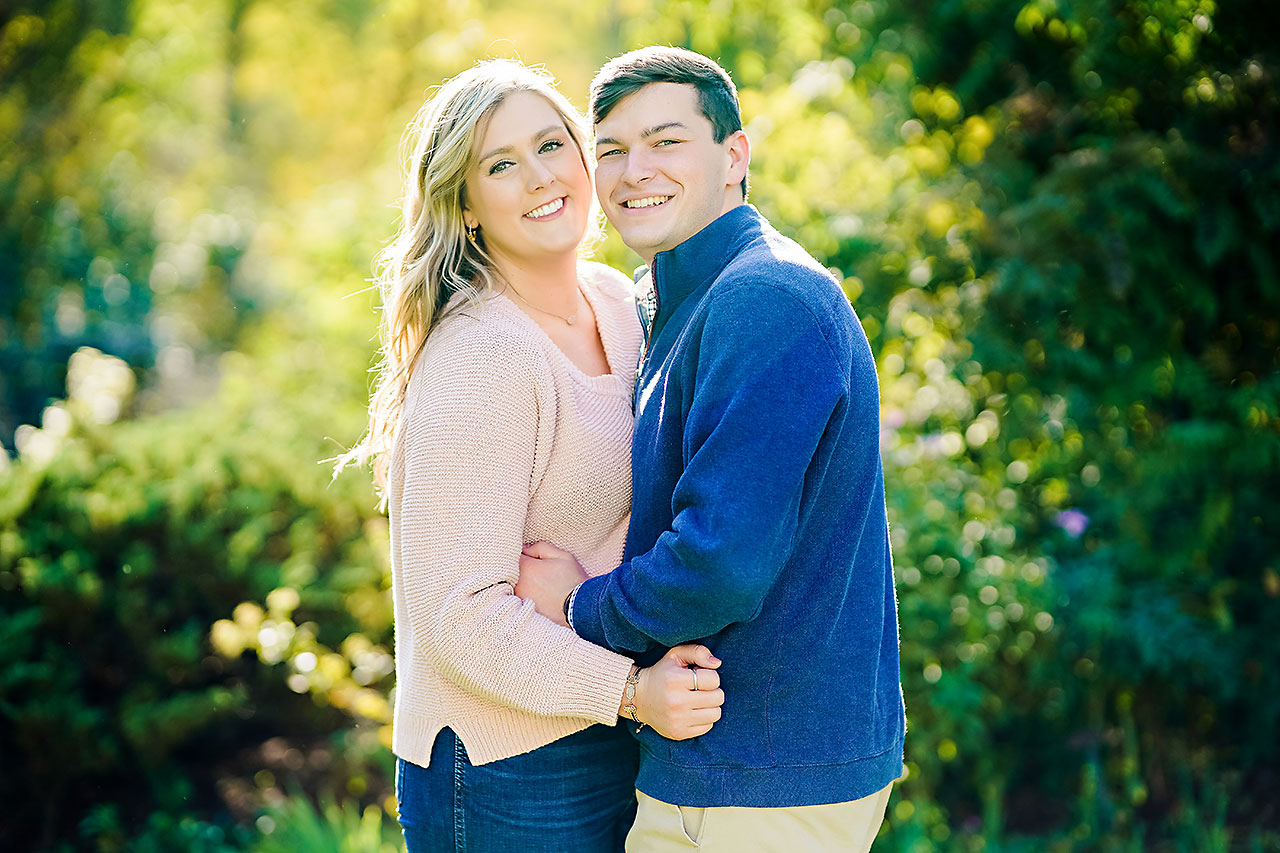 Taylor Case Newfields Engagement Session 114