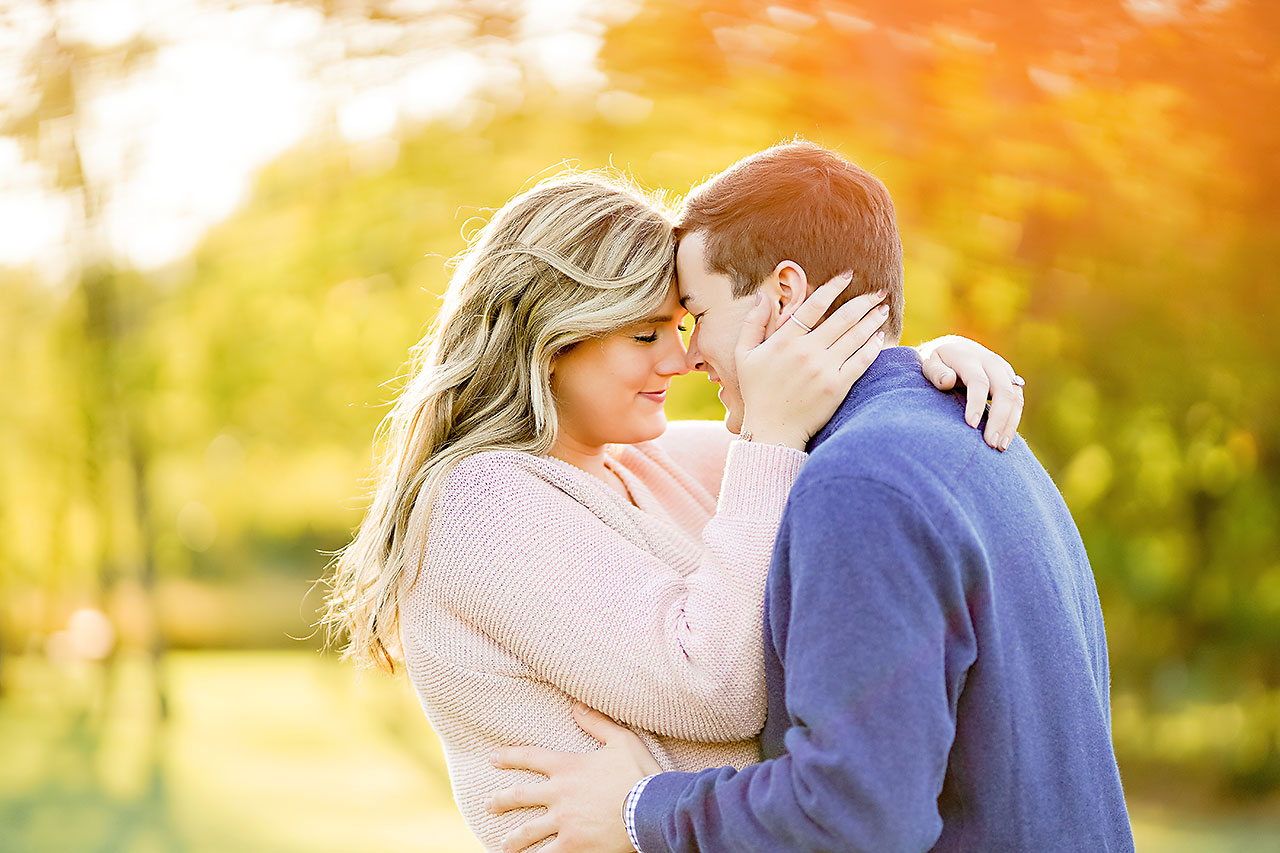 Taylor Case Newfields Engagement Session 115