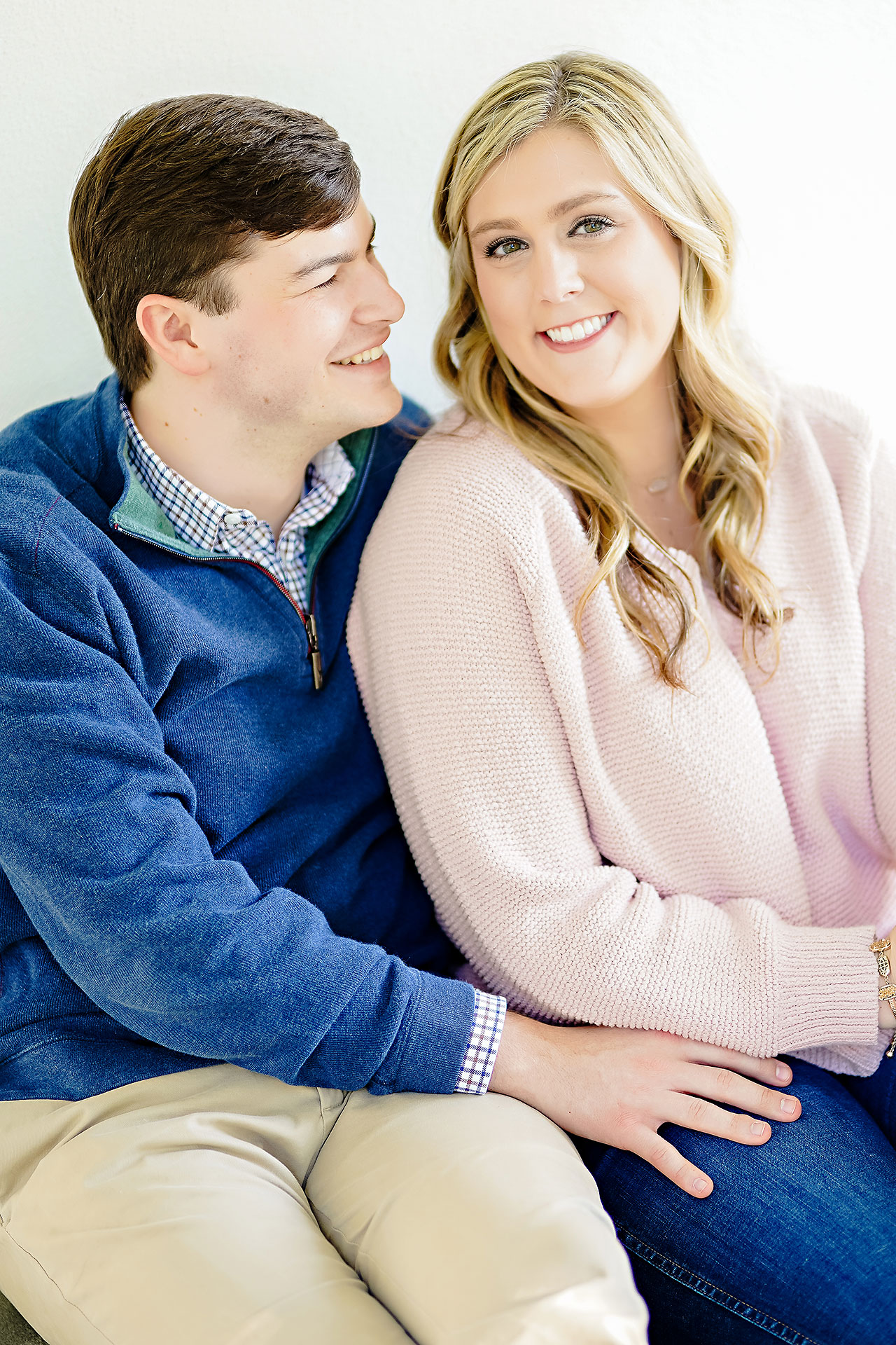 Taylor Case Newfields Engagement Session 106