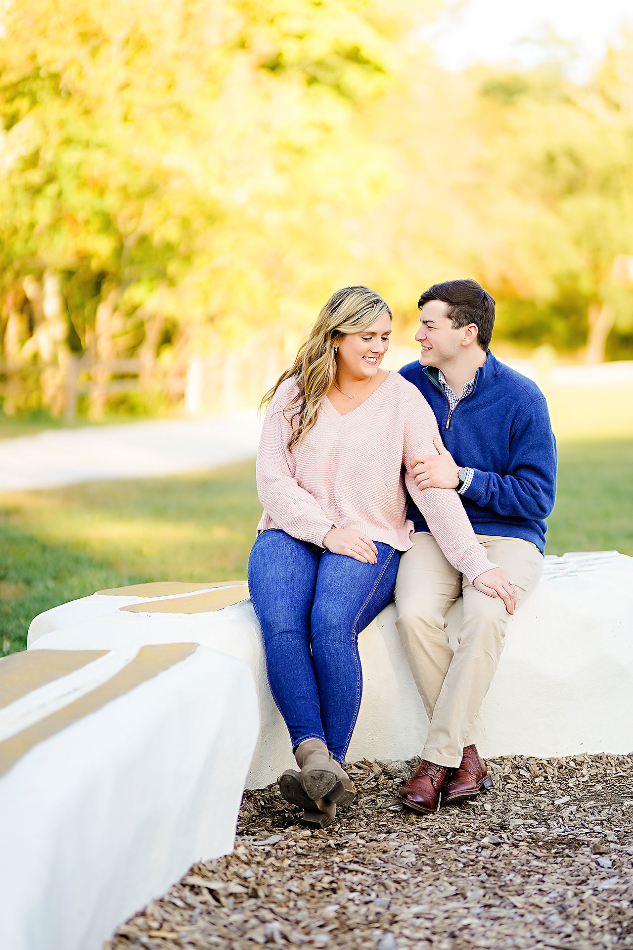 Taylor Case Newfields Engagement Session 101