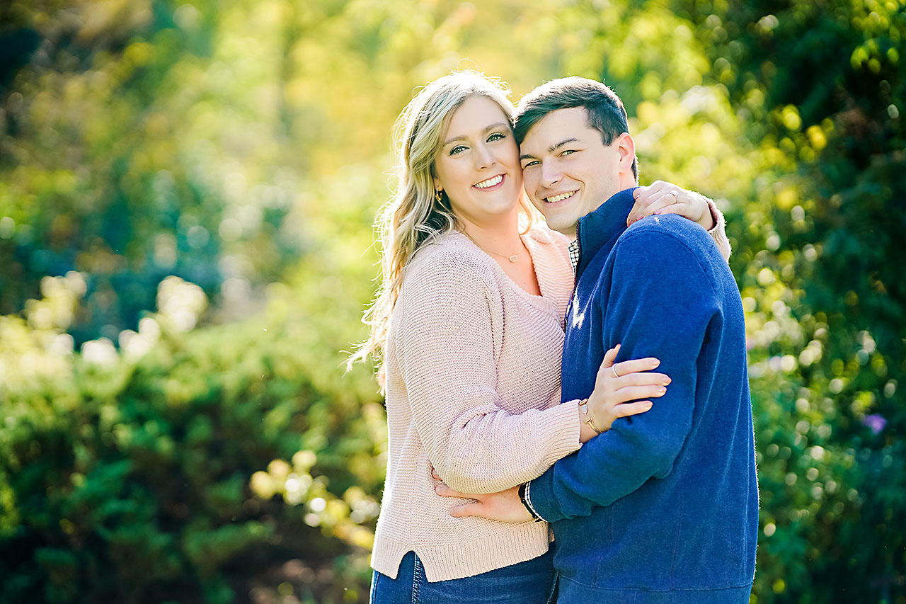 Taylor Case Newfields Engagement Session 080