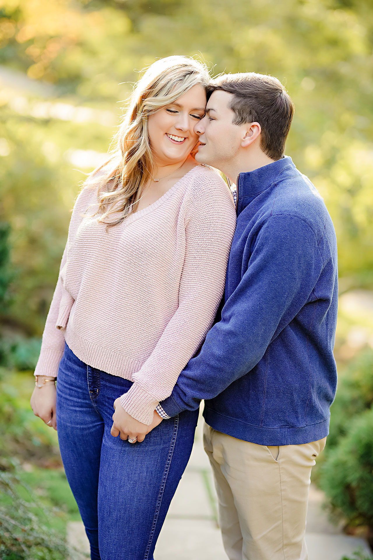 Taylor Case Newfields Engagement Session 071