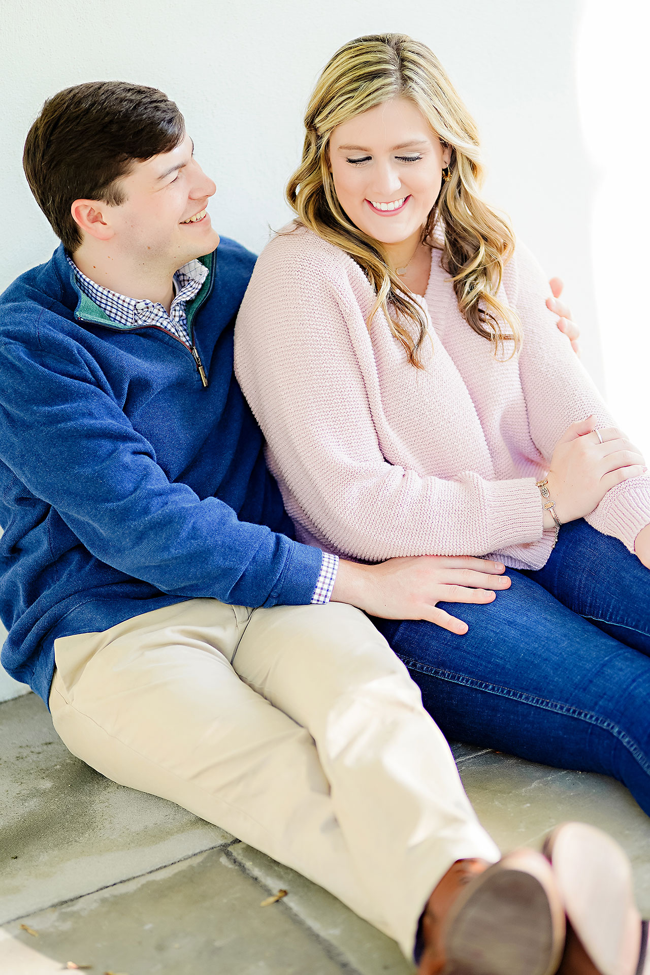 Taylor Case Newfields Engagement Session 060