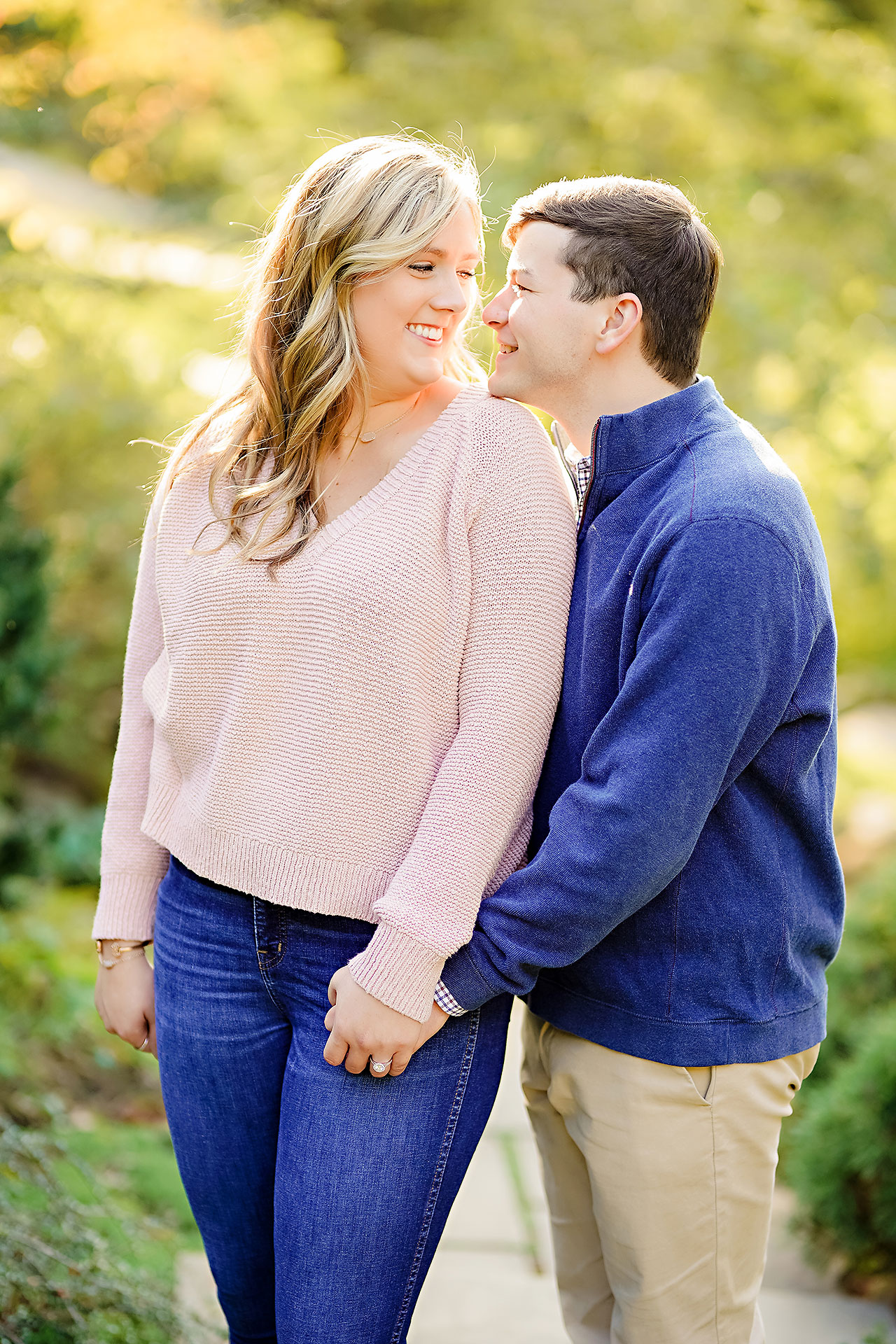 Taylor Case Newfields Engagement Session 054