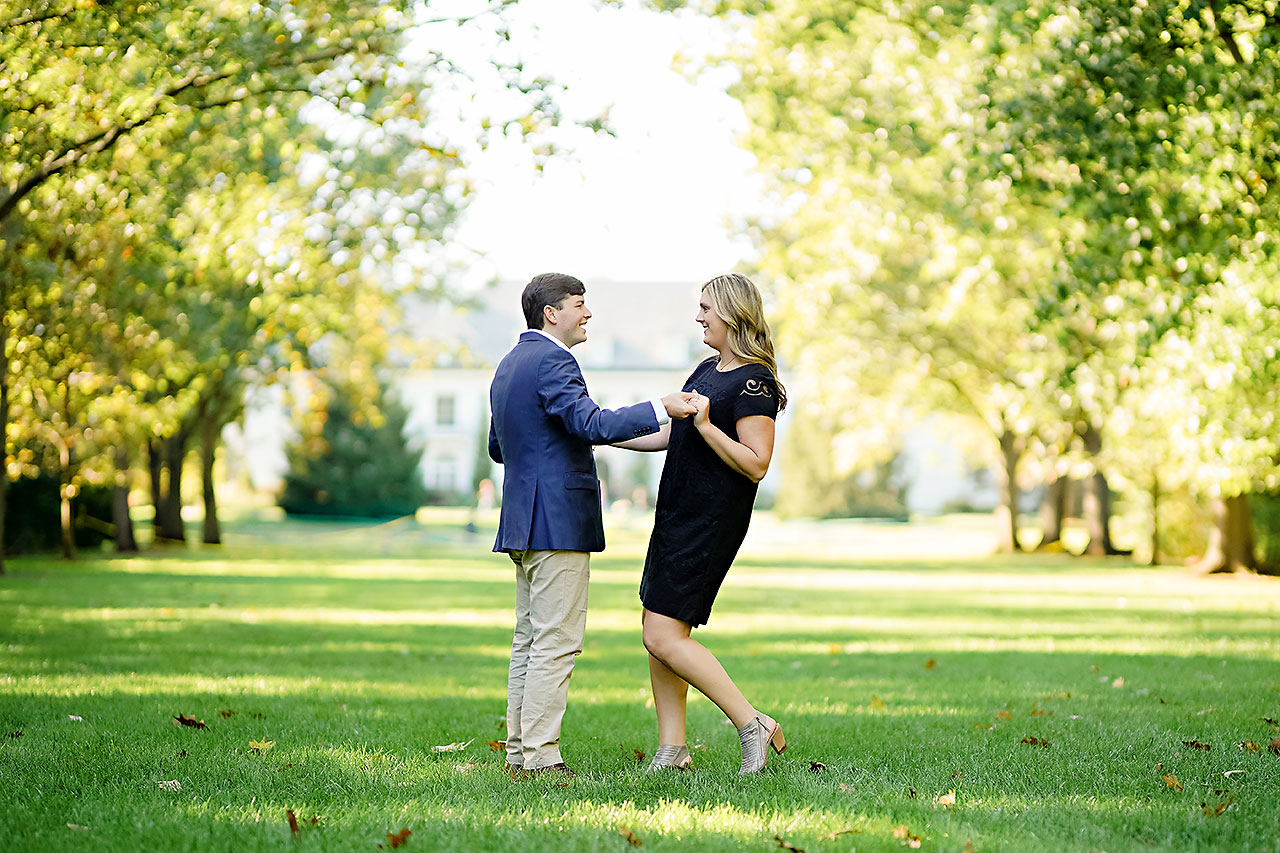 Taylor Case Newfields Engagement Session 046