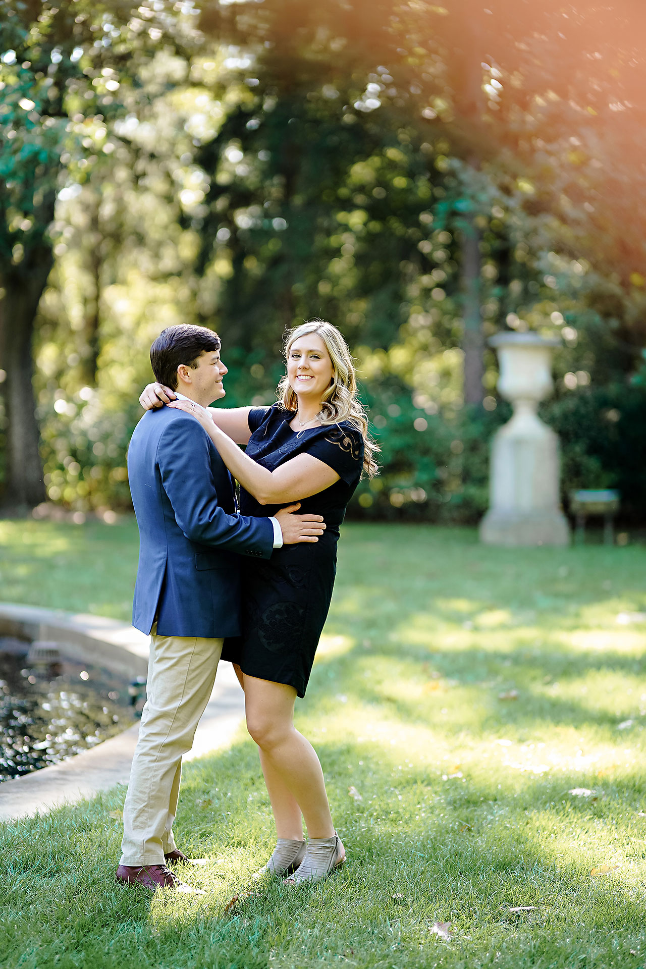 Taylor Case Newfields Engagement Session 039