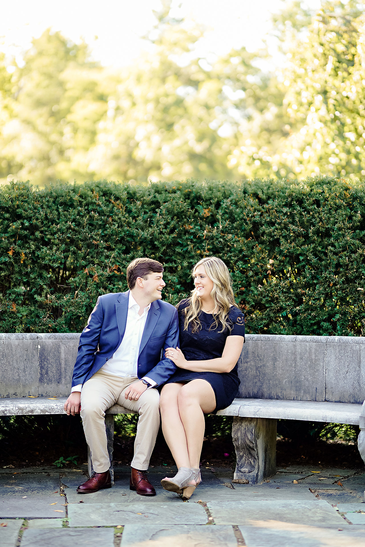 Taylor Case Newfields Engagement Session 003