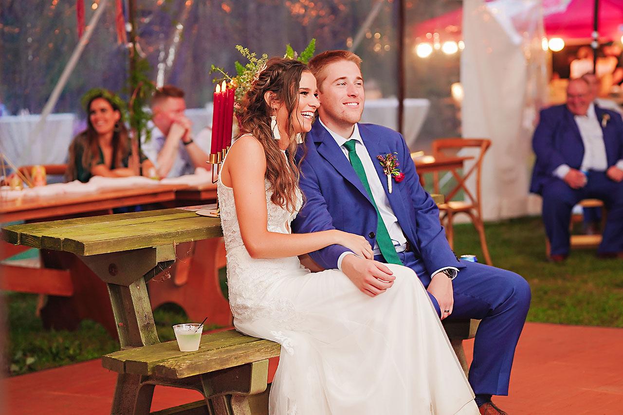 Hannah Ian Friendship Gardens Michigan City Indiana Wedding 326