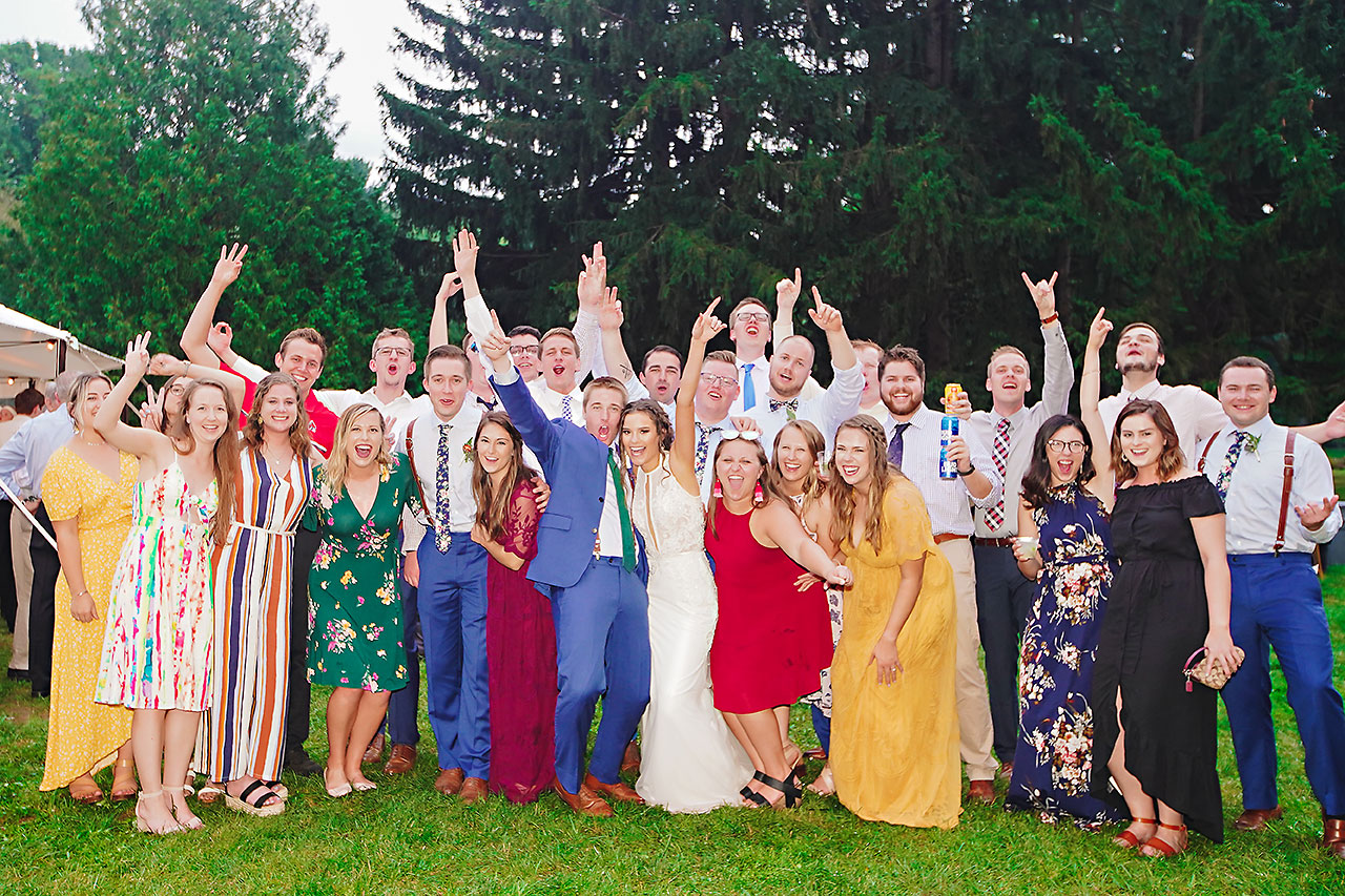 Hannah Ian Friendship Gardens Michigan City Indiana Wedding 319