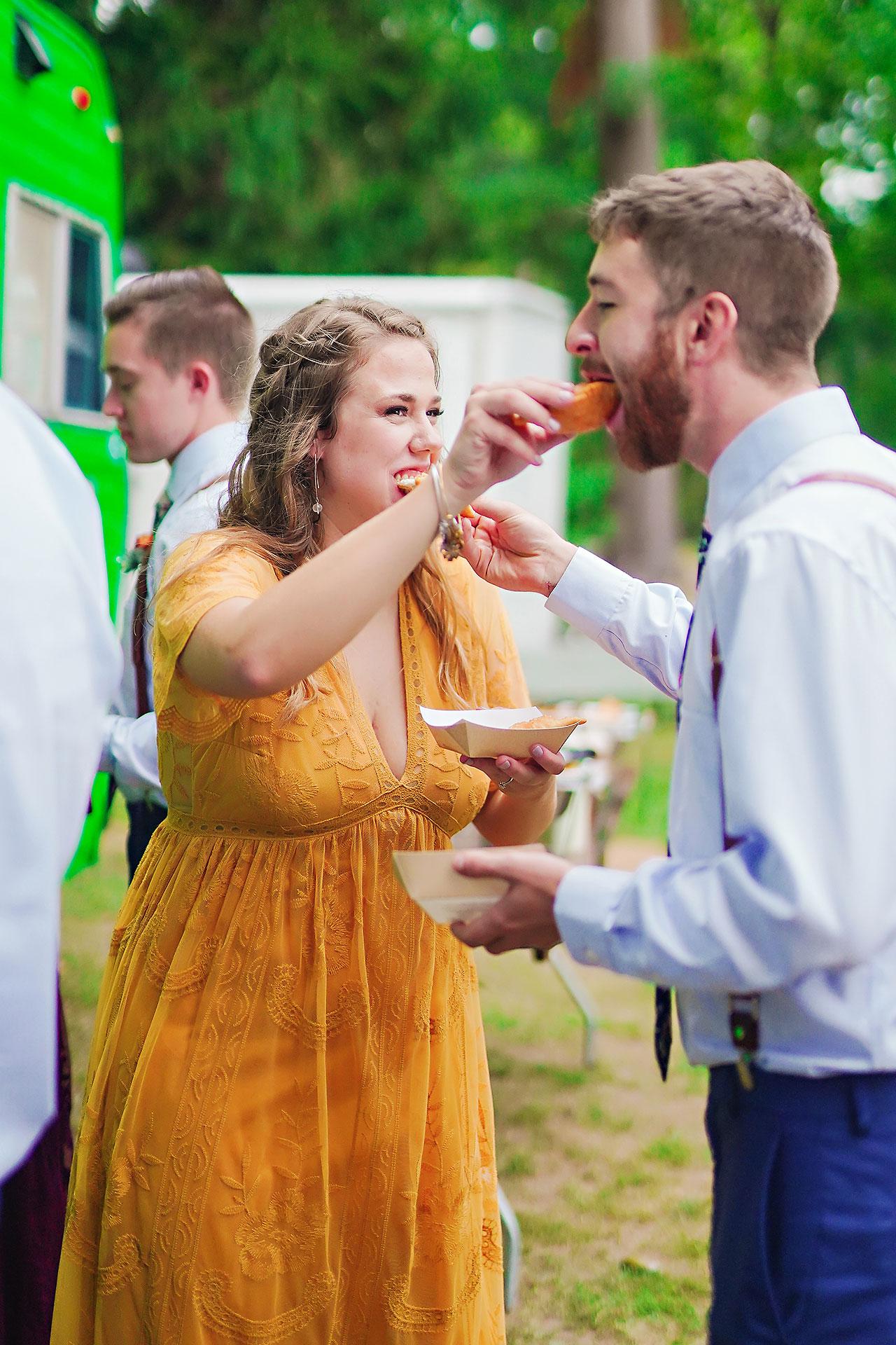 Hannah Ian Friendship Gardens Michigan City Indiana Wedding 308