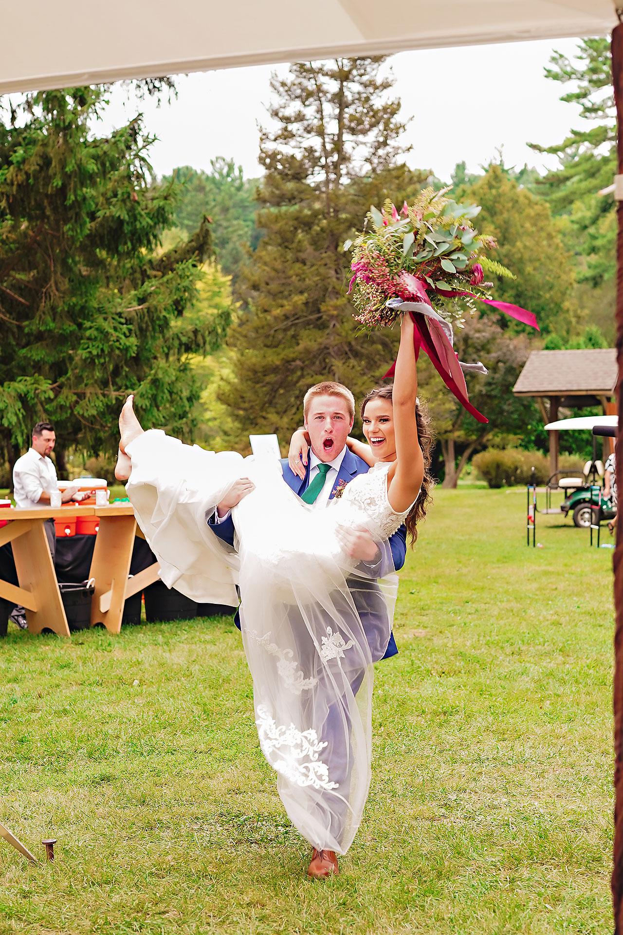 Hannah Ian Friendship Gardens Michigan City Indiana Wedding 292
