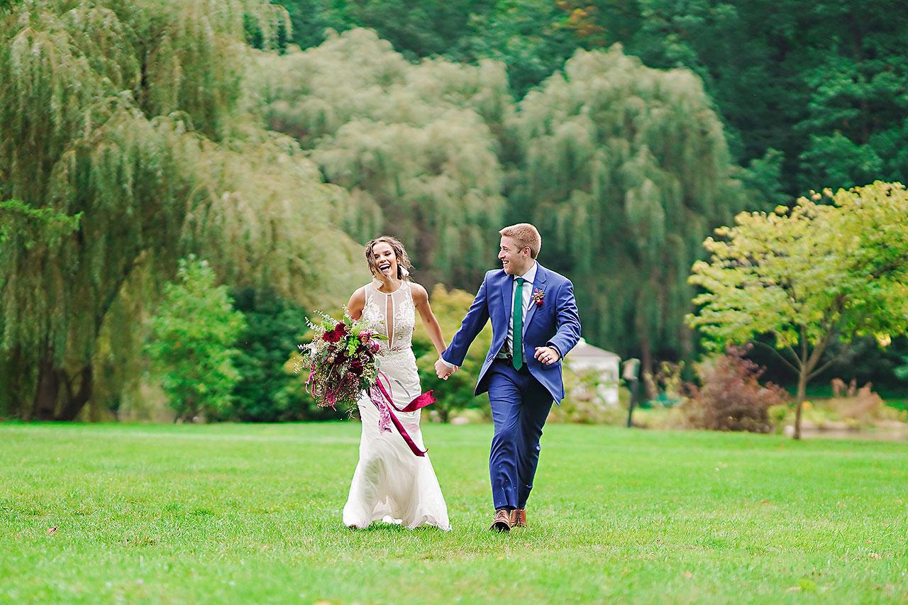 Hannah Ian Friendship Gardens Michigan City Indiana Wedding 241