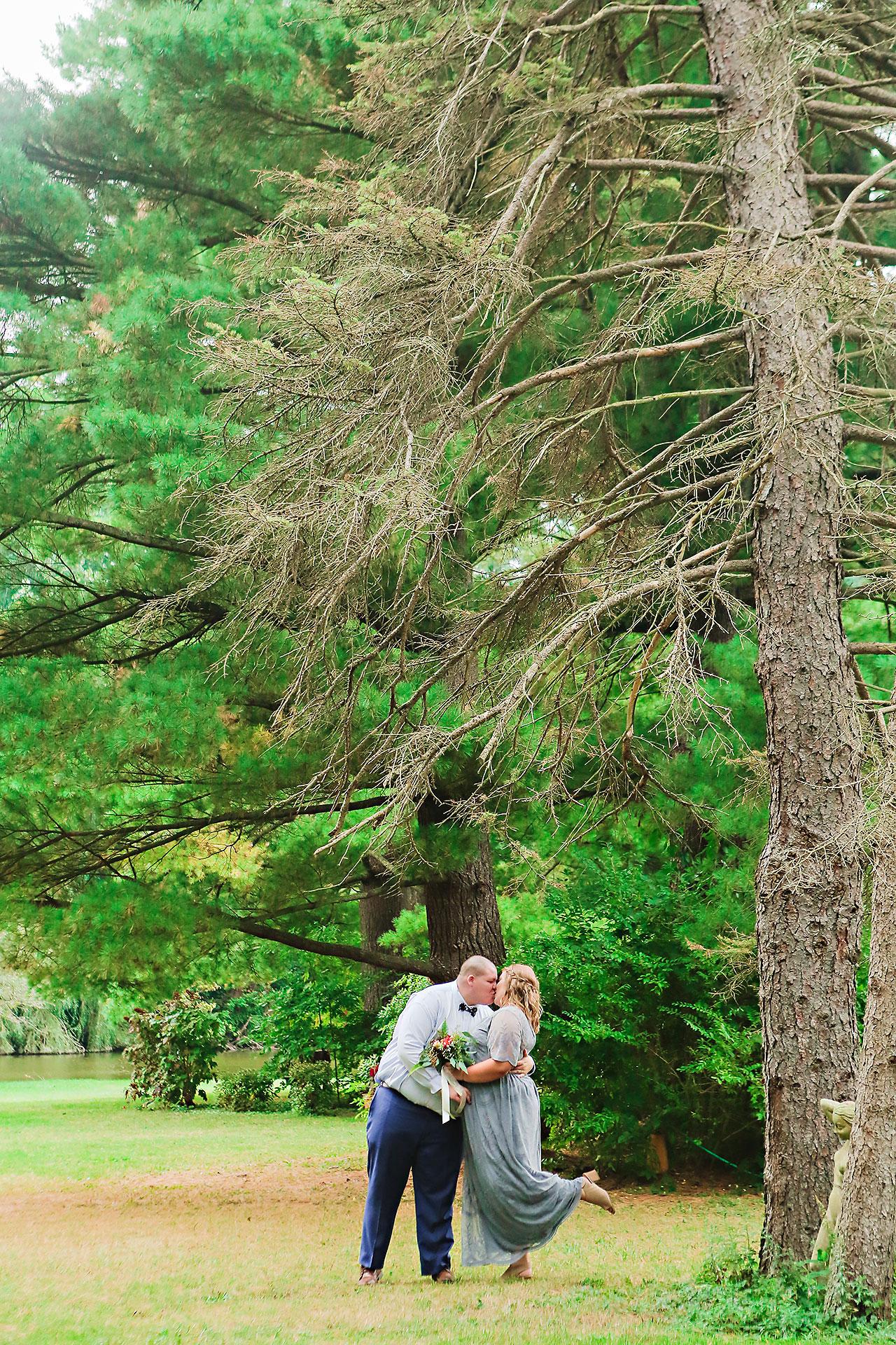 Hannah Ian Friendship Gardens Michigan City Indiana Wedding 229