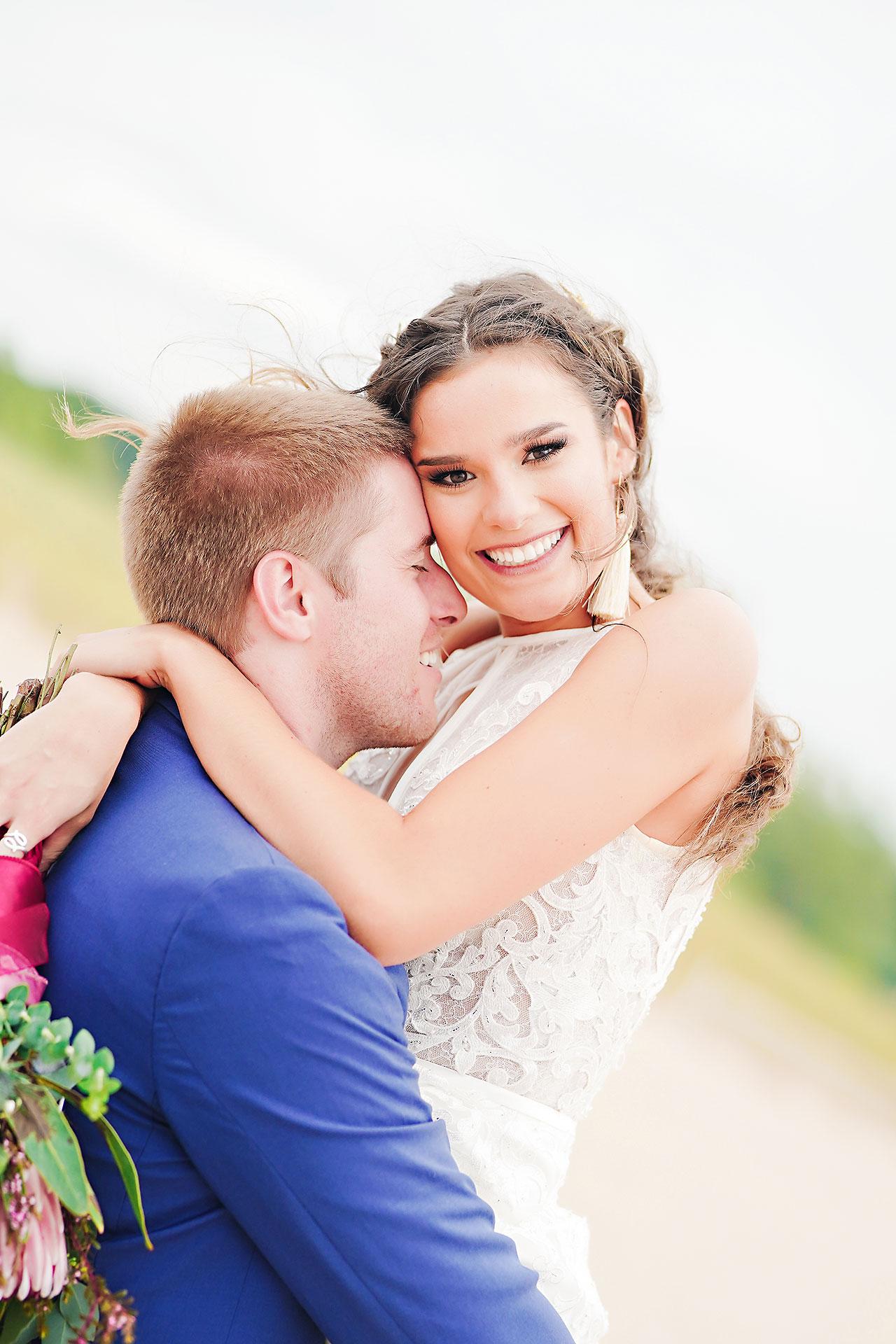 Hannah Ian Friendship Gardens Michigan City Indiana Wedding 188