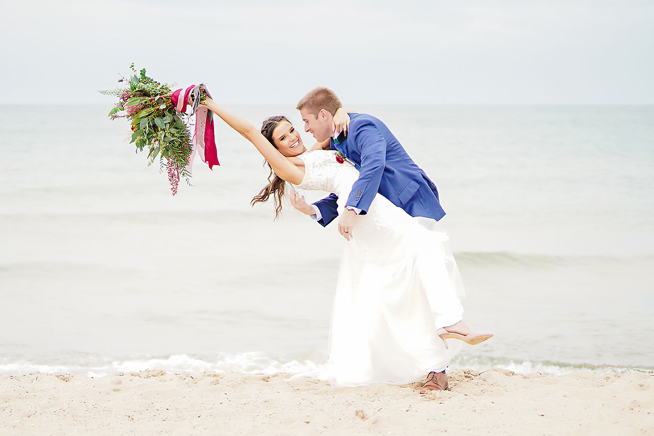 HANNAH + IAN | FRIENDSHIP GARDENS MICHIGAN CITY INDIANA WEDDING