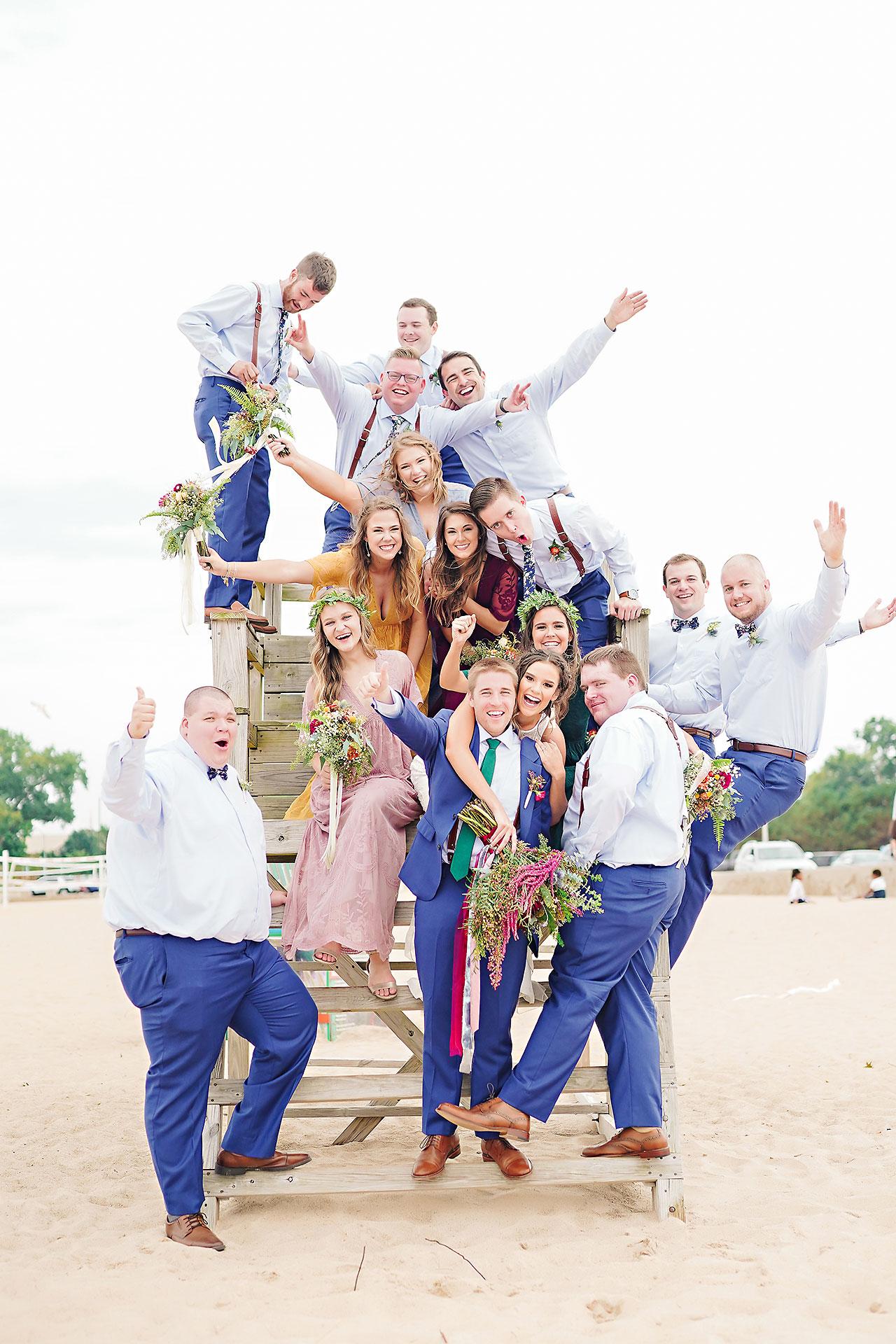 Hannah Ian Friendship Gardens Michigan City Indiana Wedding 138