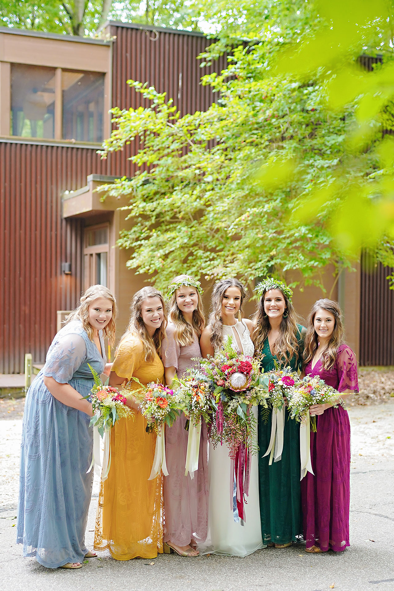 Hannah Ian Friendship Gardens Michigan City Indiana Wedding 044