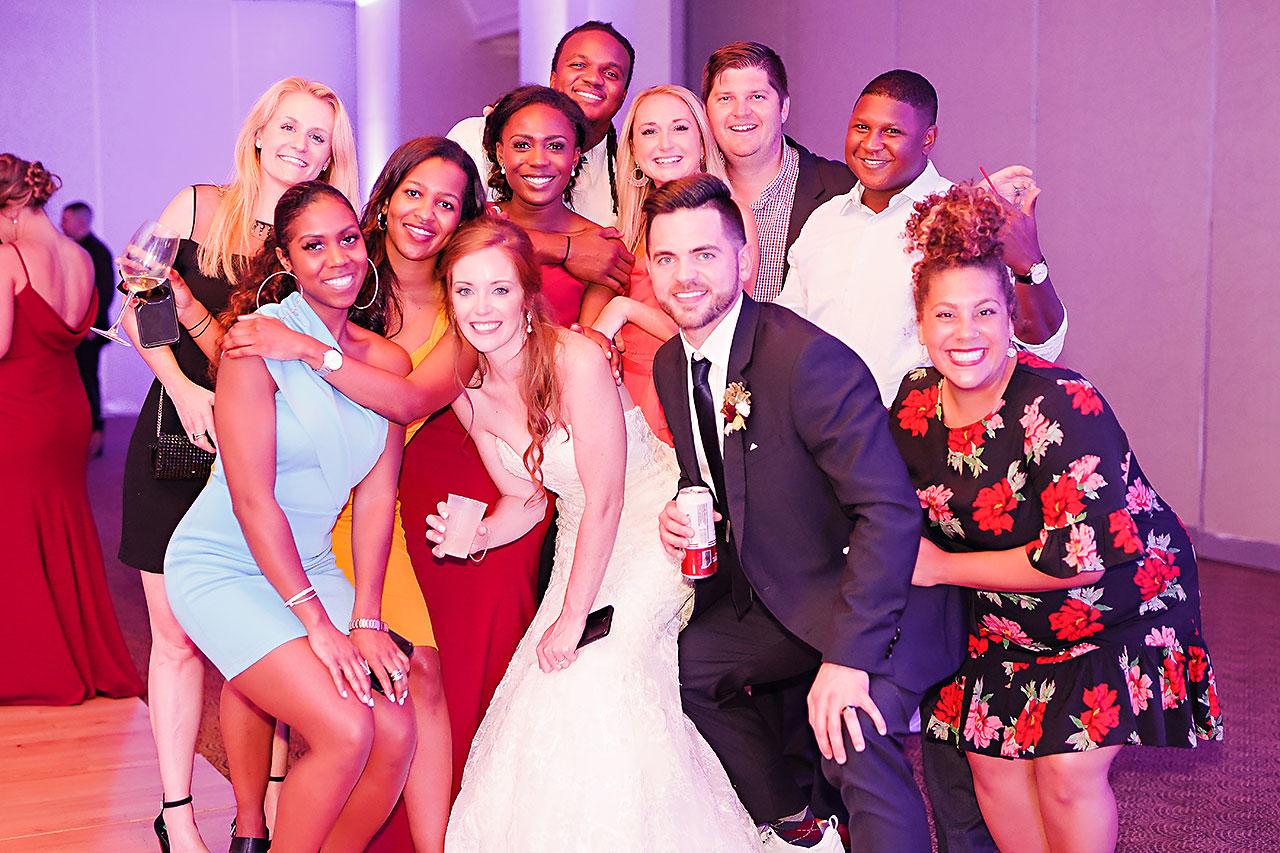 Callie Josh Ritz Charles Garden Pavilion Carmel Indiana Wedding 383