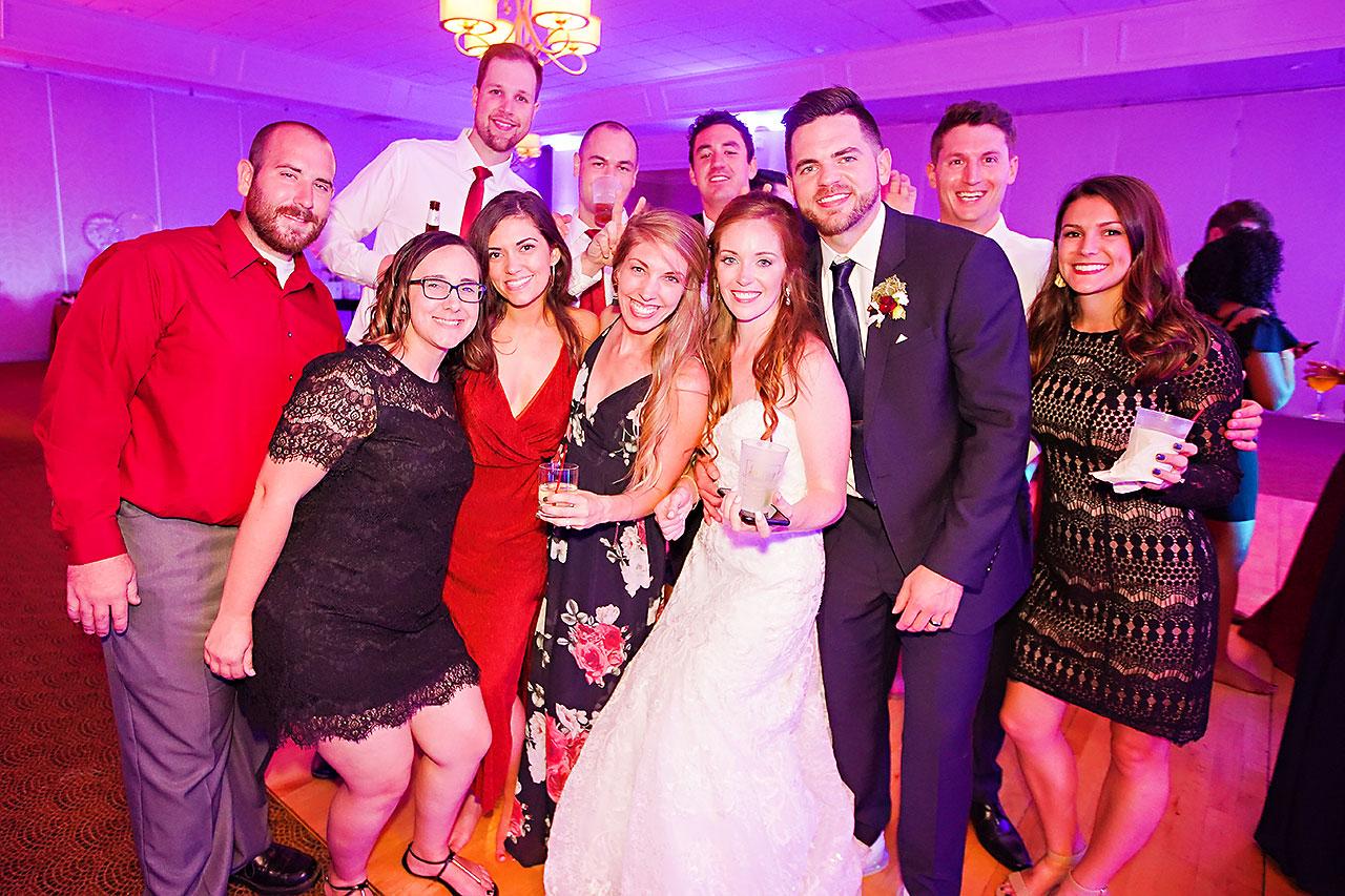 Callie Josh Ritz Charles Garden Pavilion Carmel Indiana Wedding 378