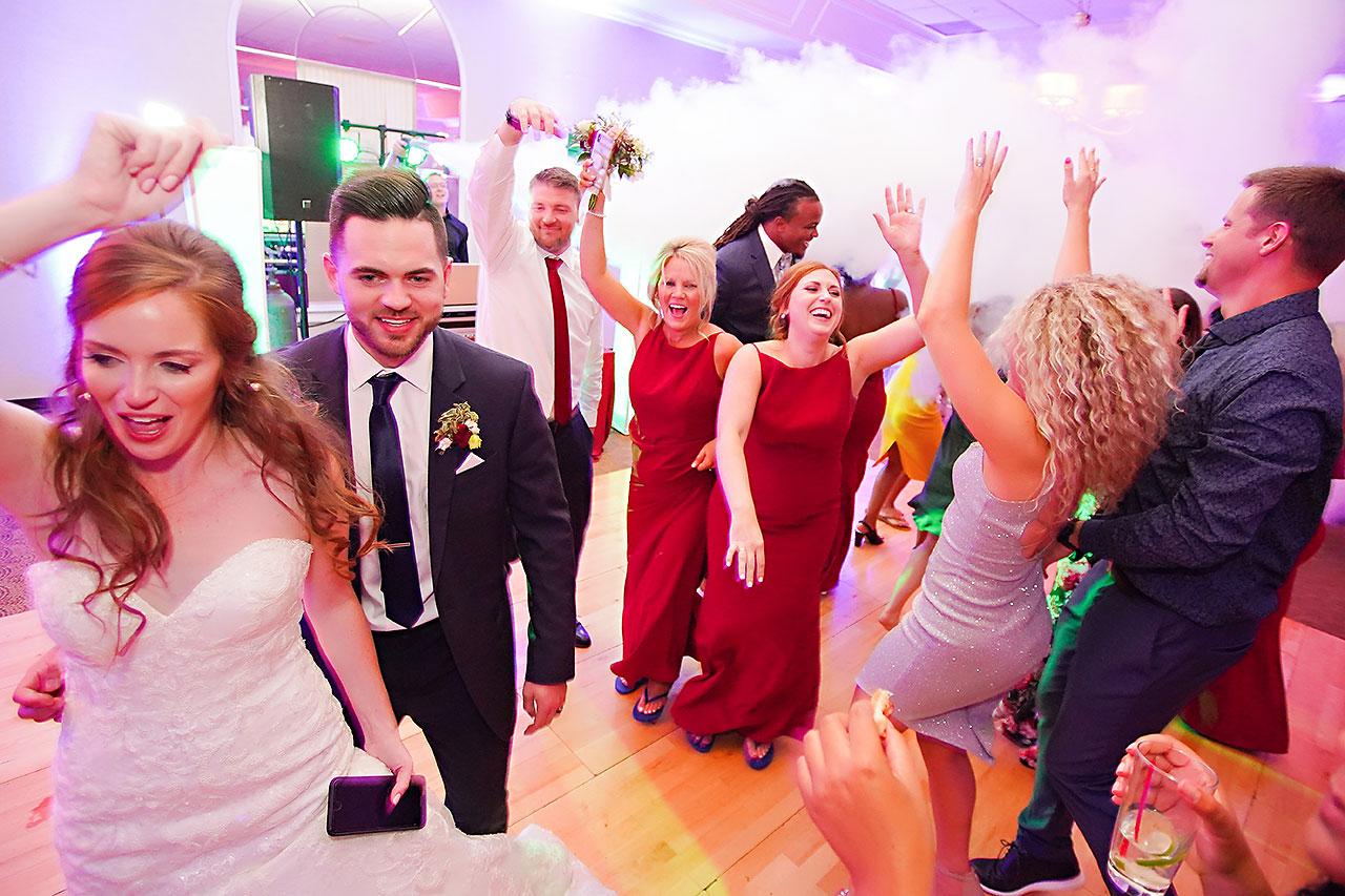 Callie Josh Ritz Charles Garden Pavilion Carmel Indiana Wedding 371