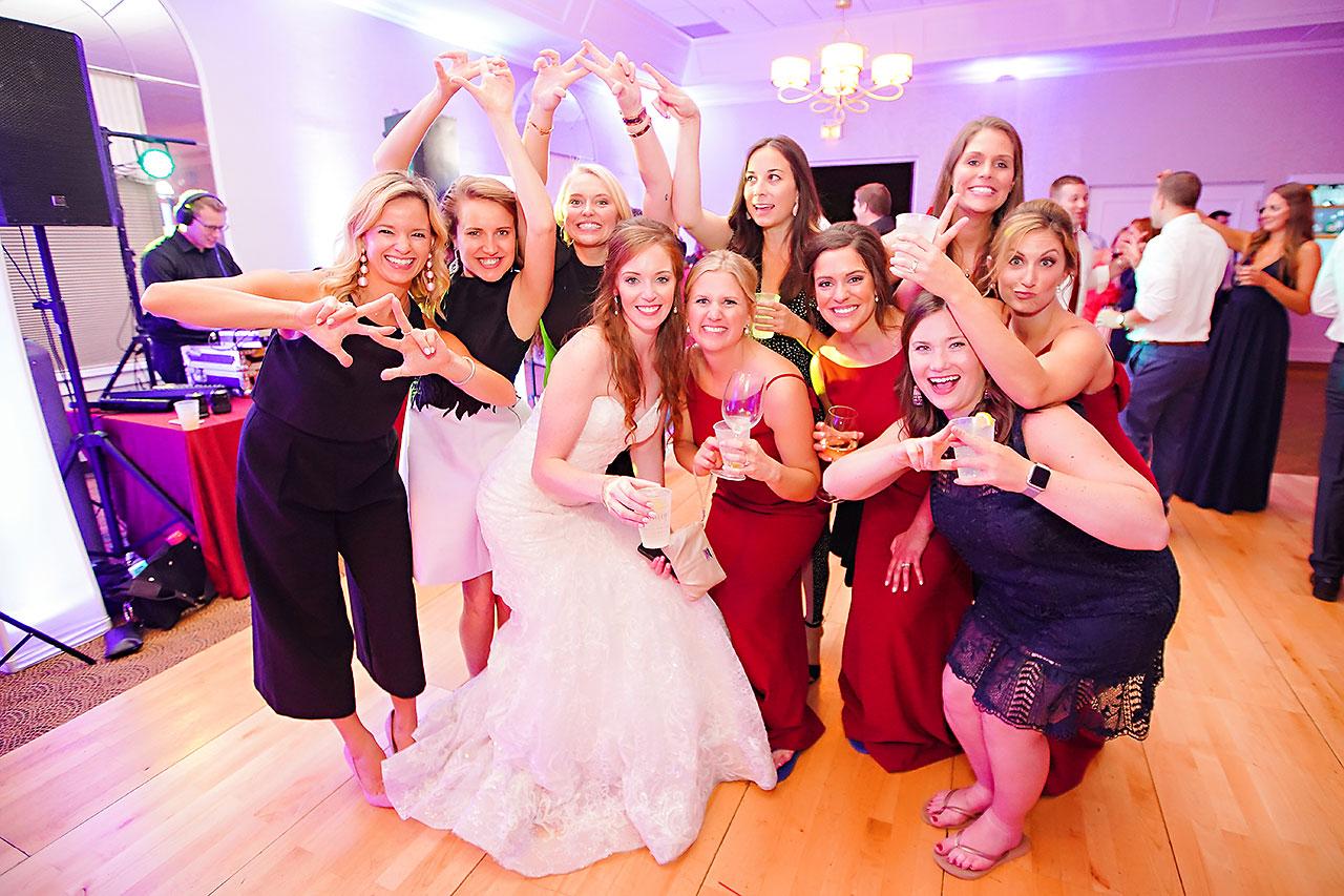 Callie Josh Ritz Charles Garden Pavilion Carmel Indiana Wedding 369