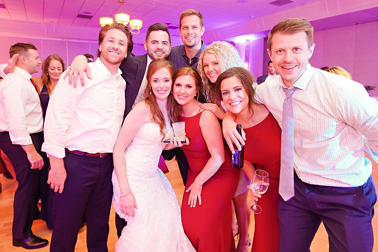 Callie Josh Ritz Charles Garden Pavilion Carmel Indiana Wedding 370