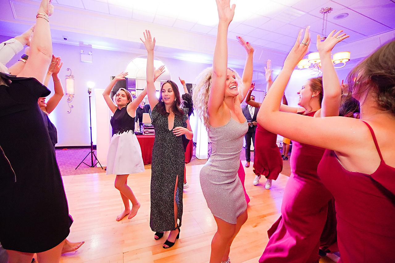 Callie Josh Ritz Charles Garden Pavilion Carmel Indiana Wedding 366