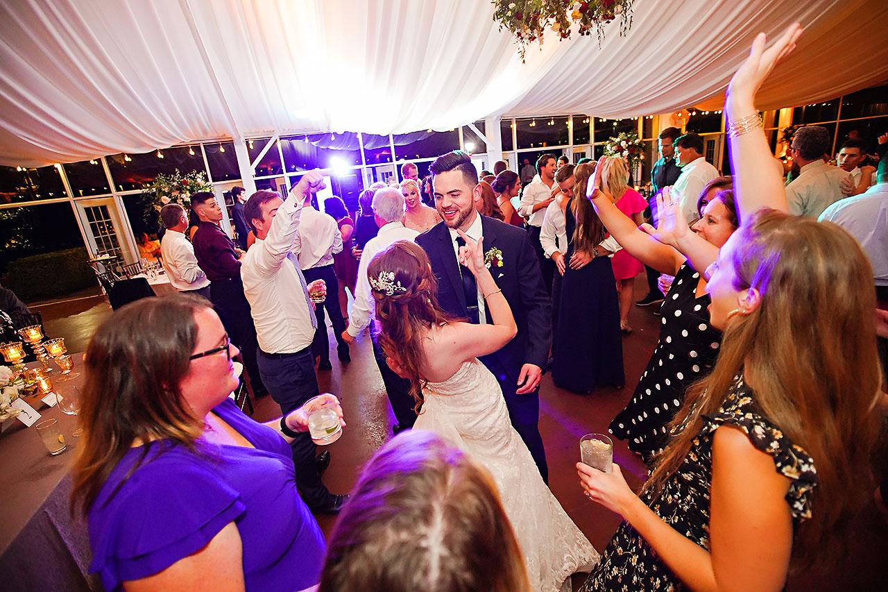 Callie Josh Ritz Charles Garden Pavilion Carmel Indiana Wedding 361