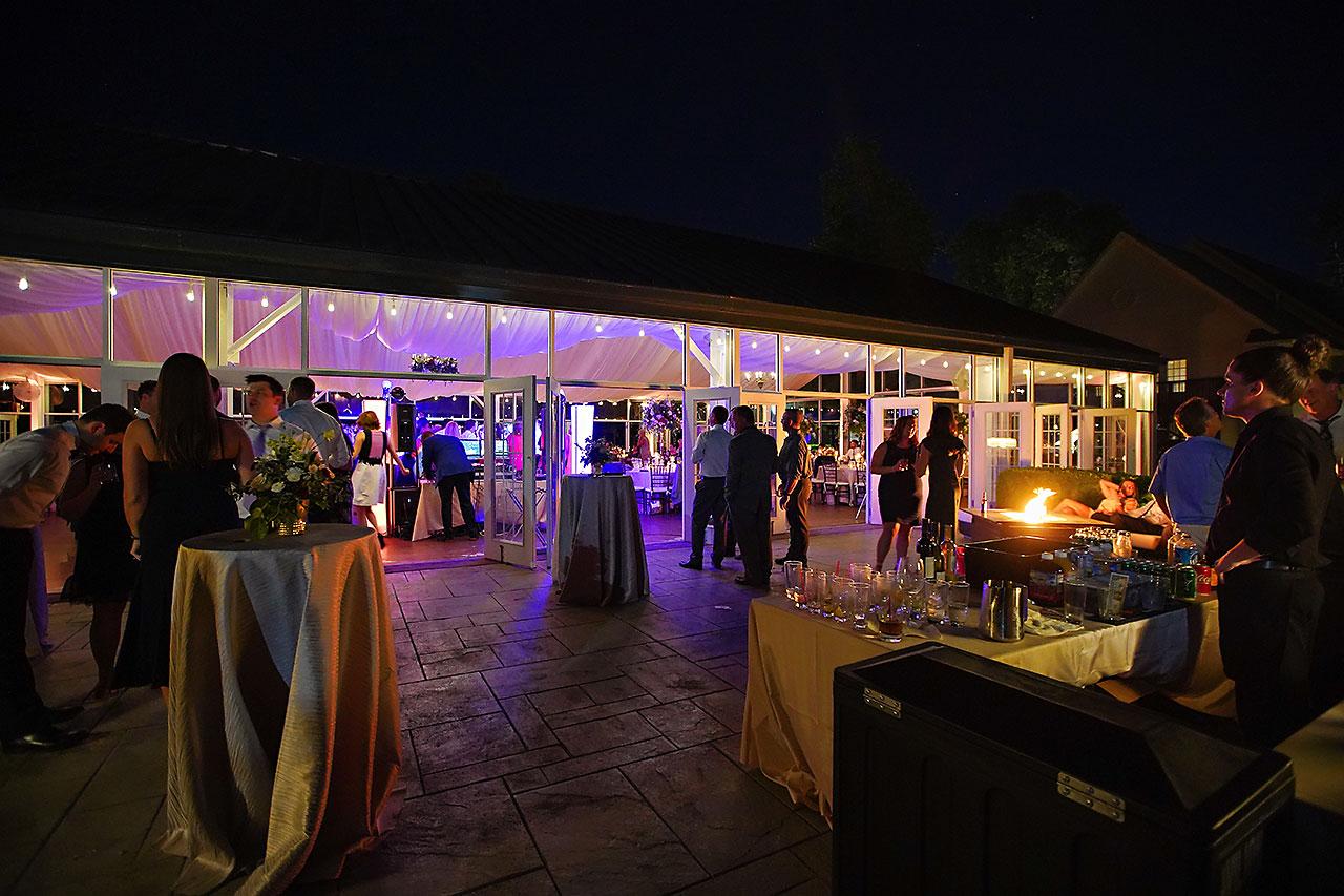 Callie Josh Ritz Charles Garden Pavilion Carmel Indiana Wedding 358
