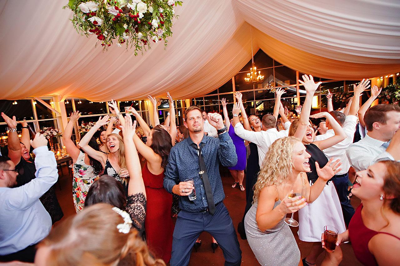 Callie Josh Ritz Charles Garden Pavilion Carmel Indiana Wedding 357